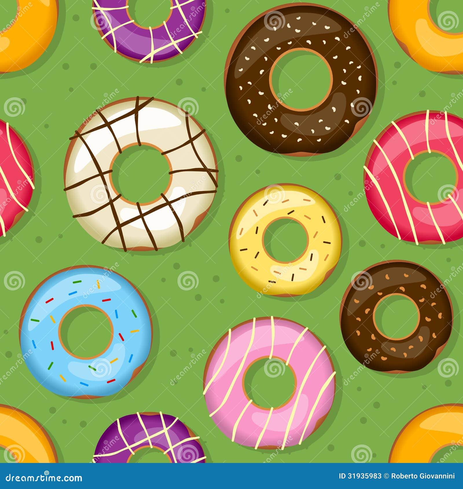 Sömlös modell för Donuts