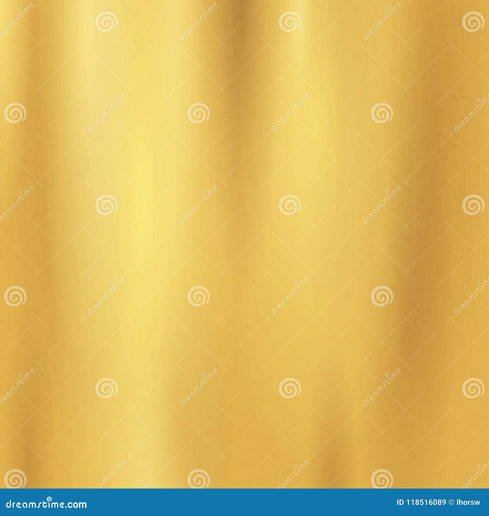 Sömlös modell för guld- textur Ljus realistisk, skinande metallisk tom guld- lutningmall _