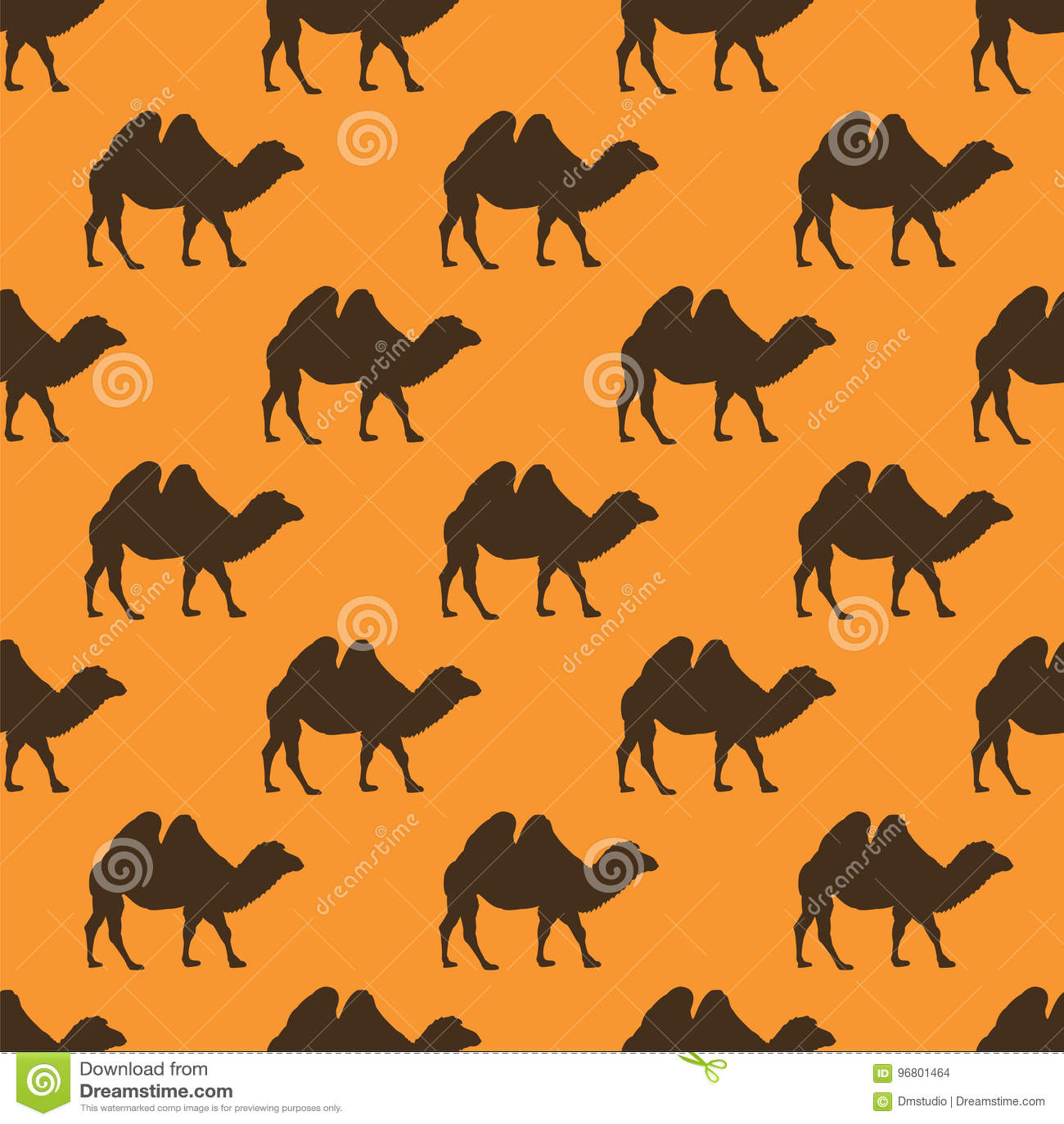 Sömlös modell för kamel