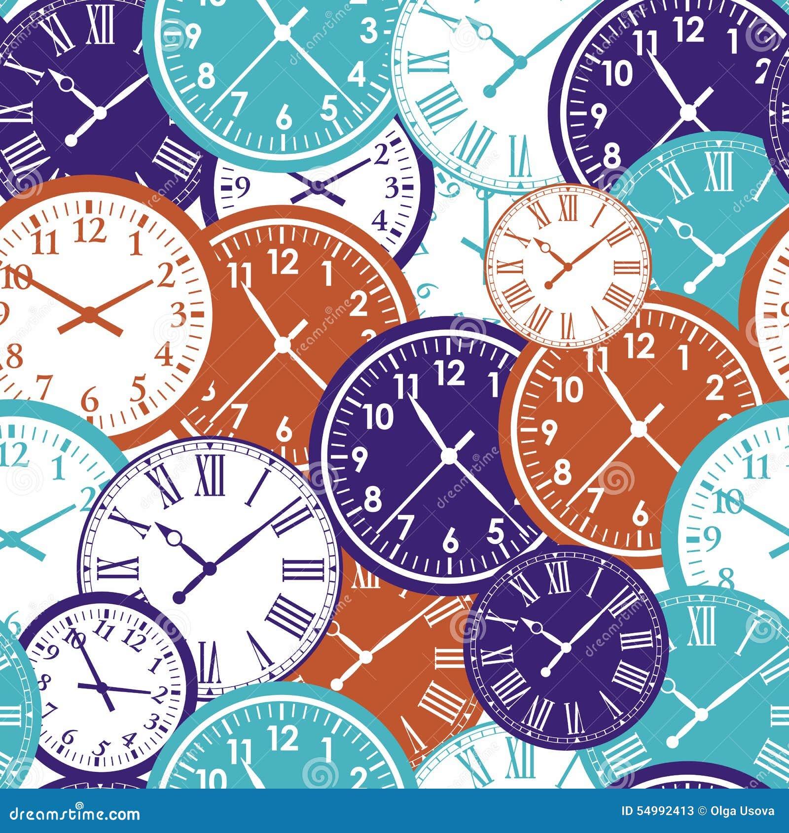 Sömlös modell för klocka` s