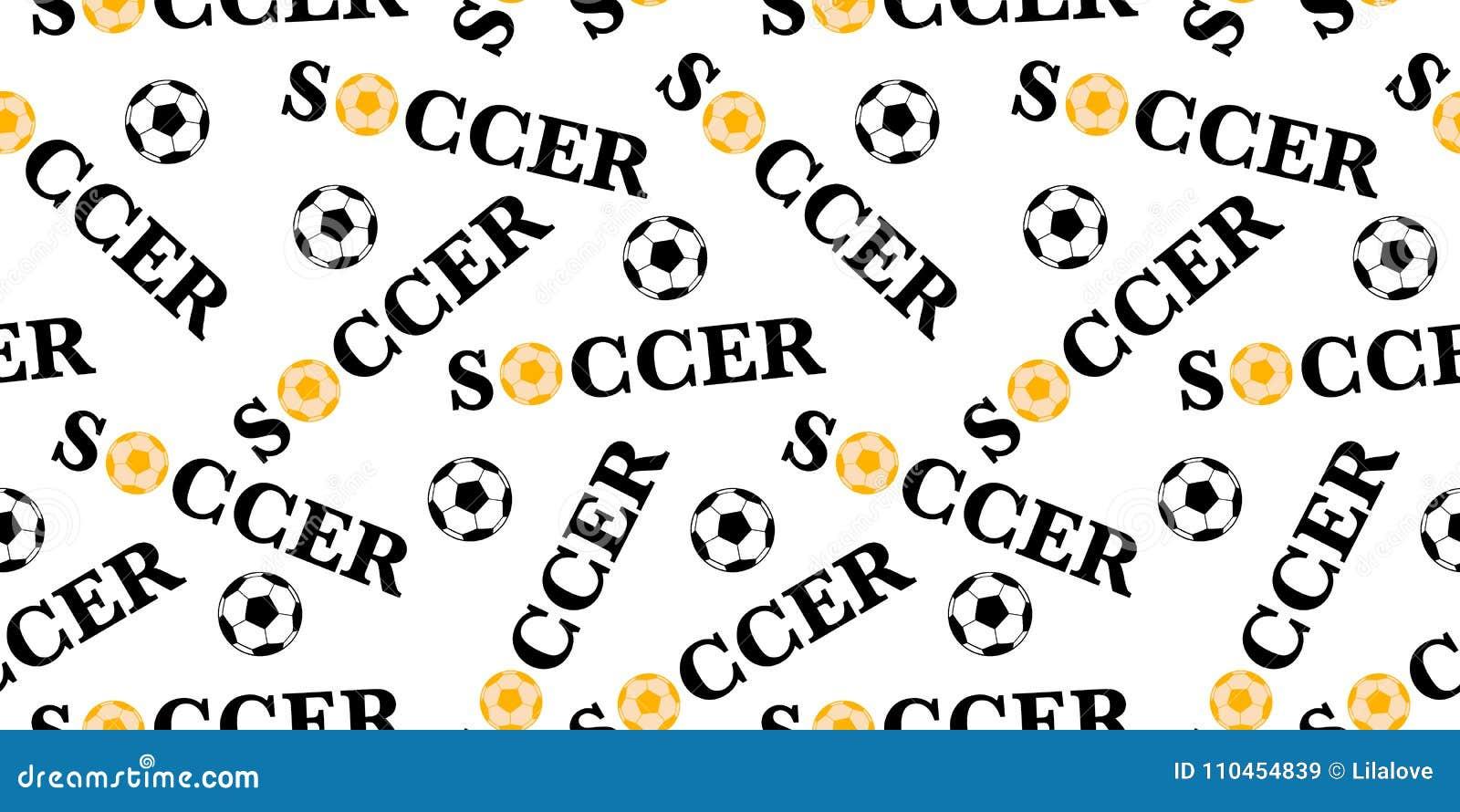 Sömlös modell med fotbollbollen