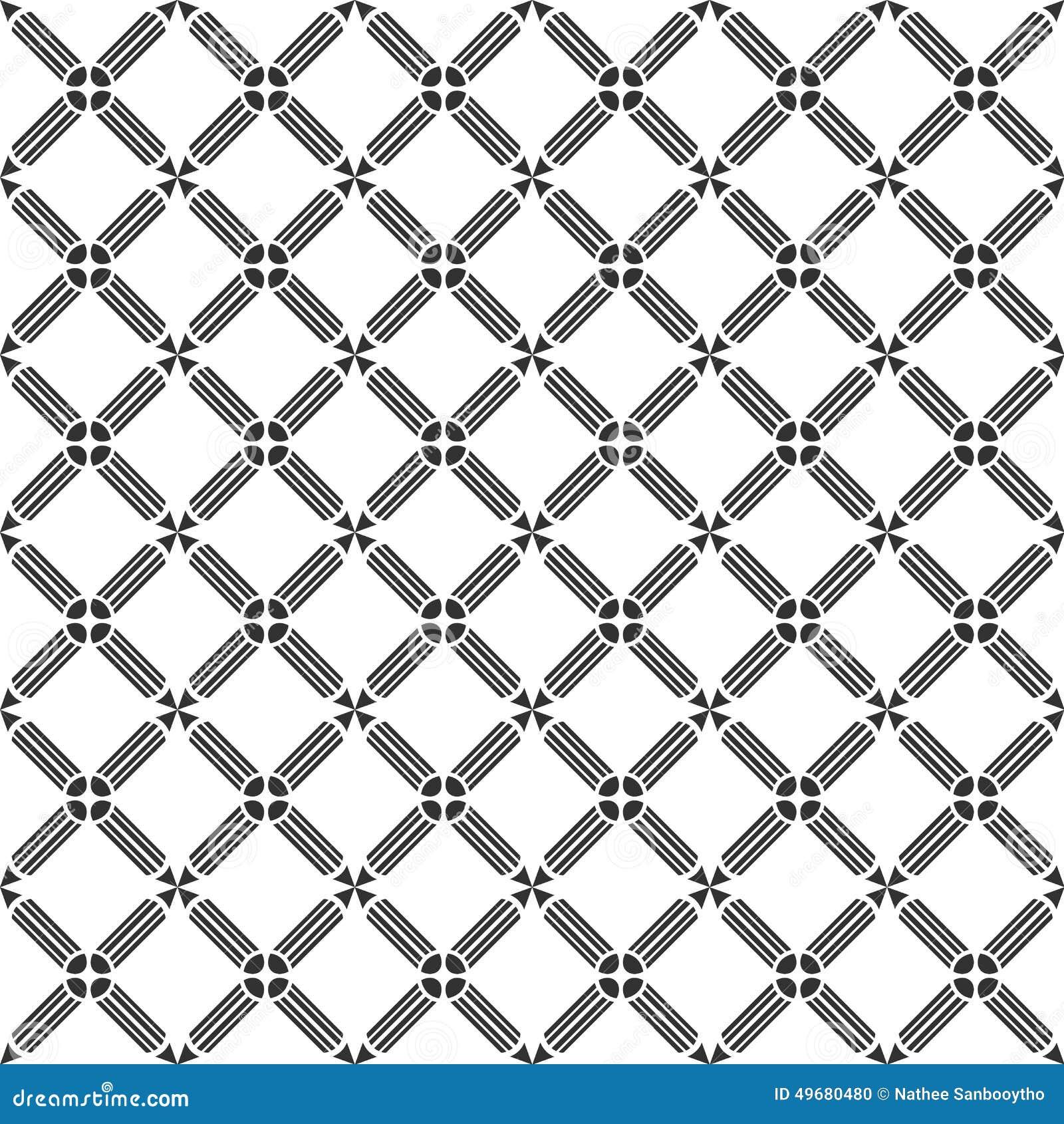 Sömlös modell som upprepar geometrisk textur
