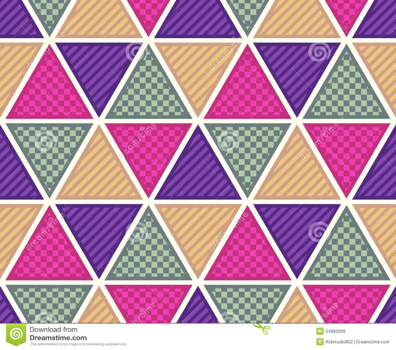 Sömlös triangel texturerad bakgrund