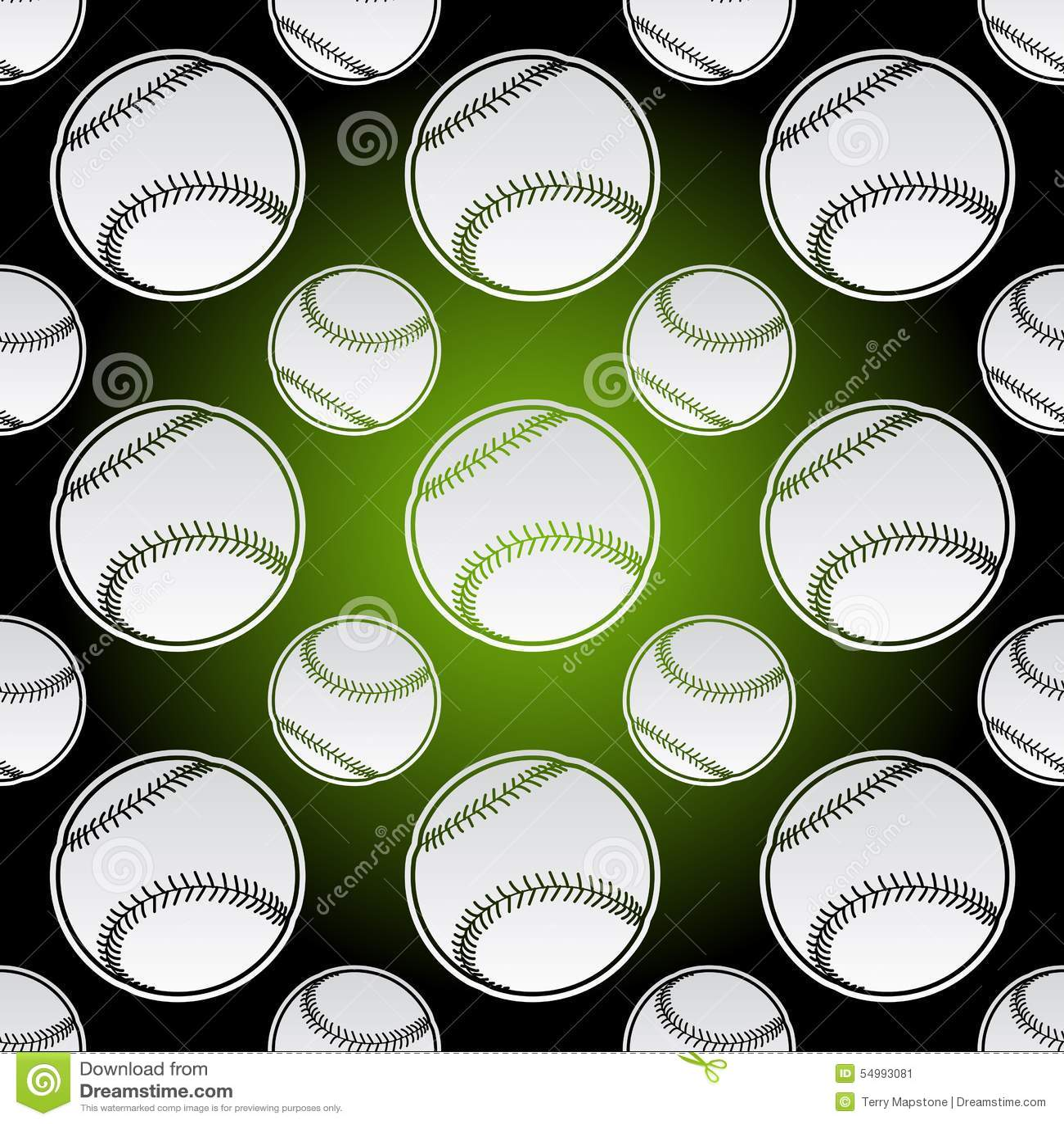 Sömlösa baseballbollar