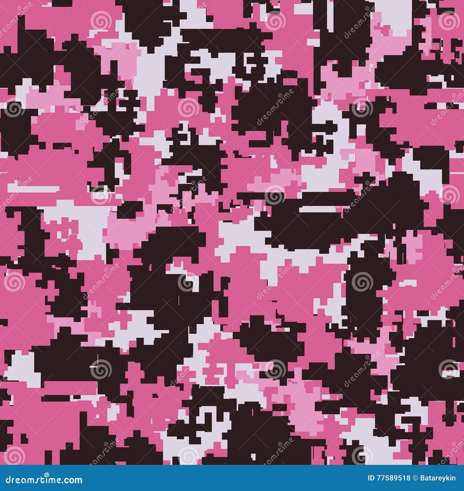 Sömlösa modeller för Digital kamouflage