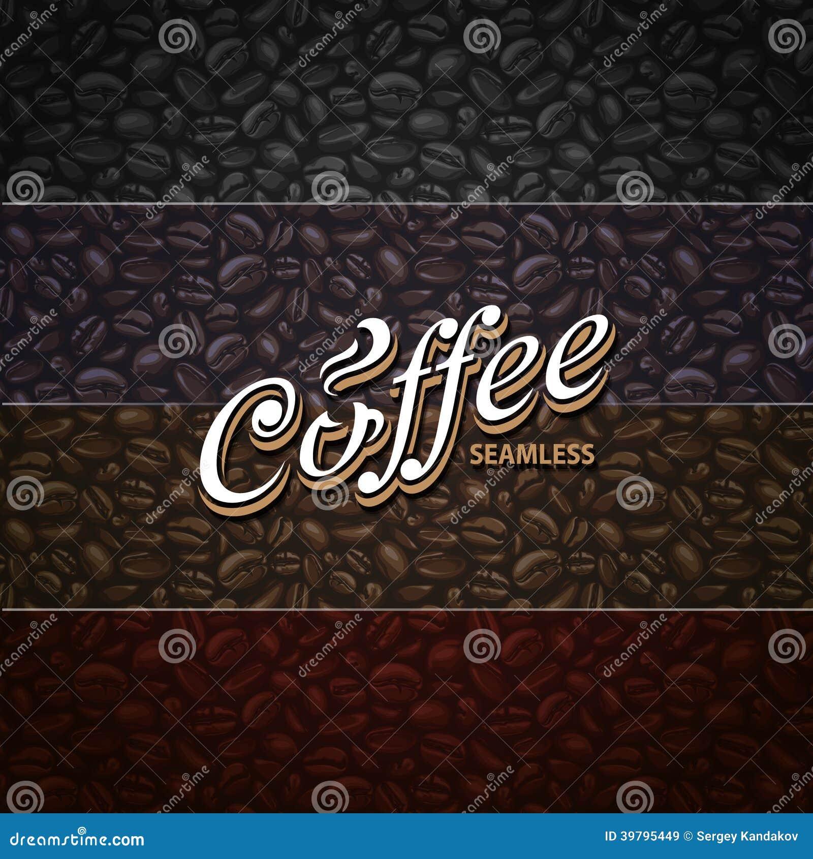 Sömlösa modeller för kaffe