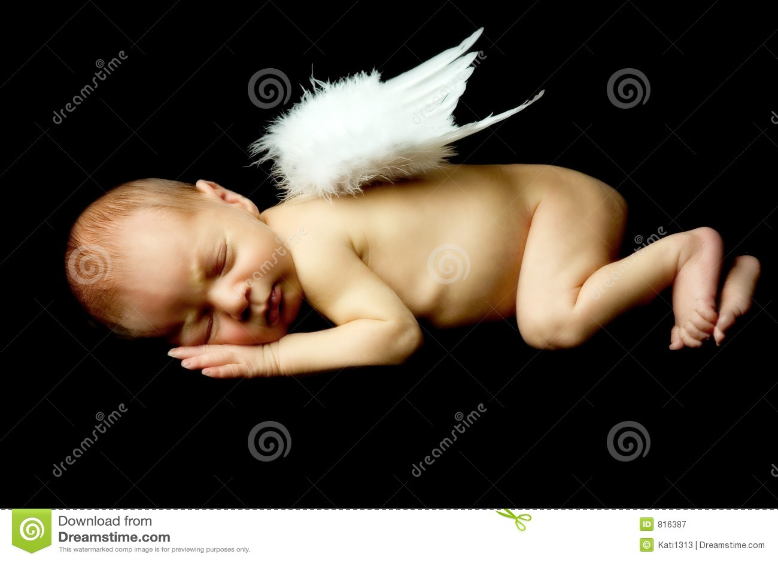 Söt ängel