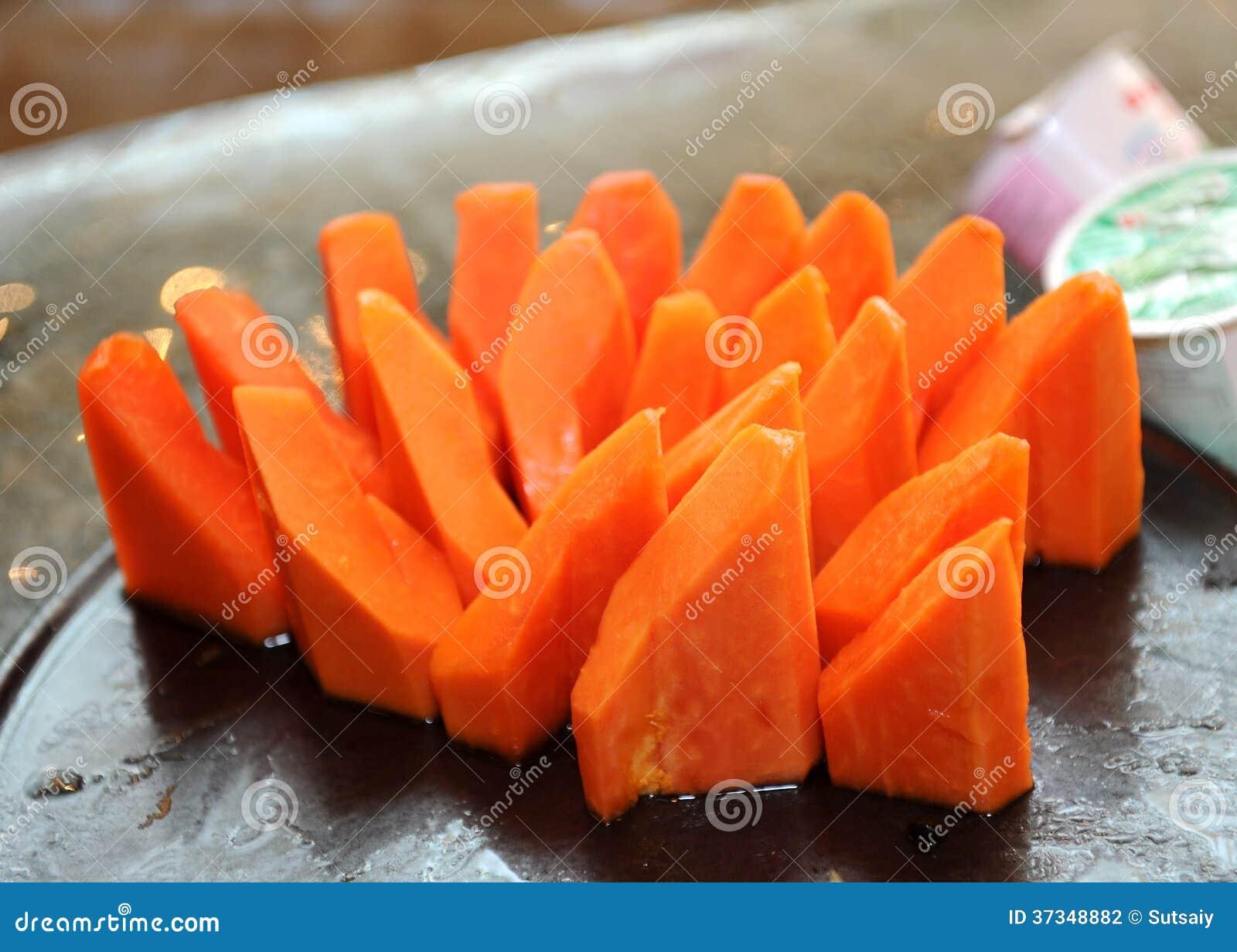 Söt papaya