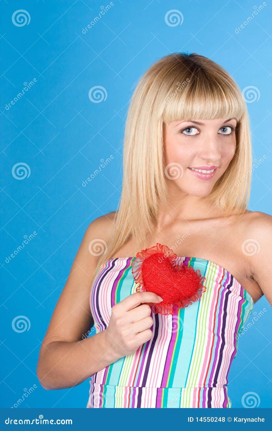 Süsse blondine