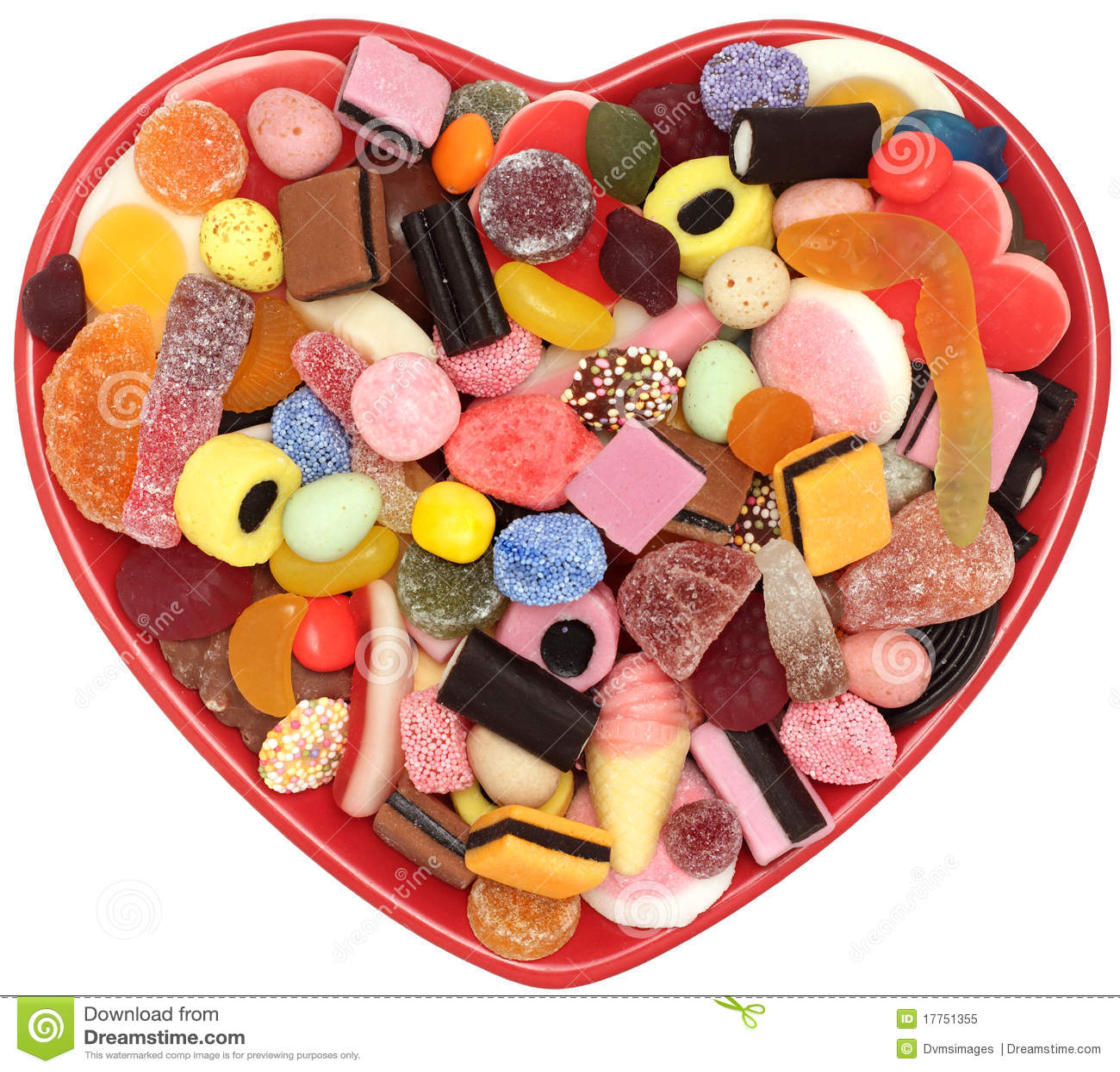 Süße Liebes-Süßigkeit