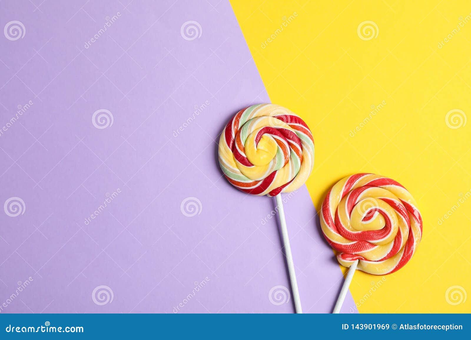 Süße Süßigkeiten mit Raum für Text