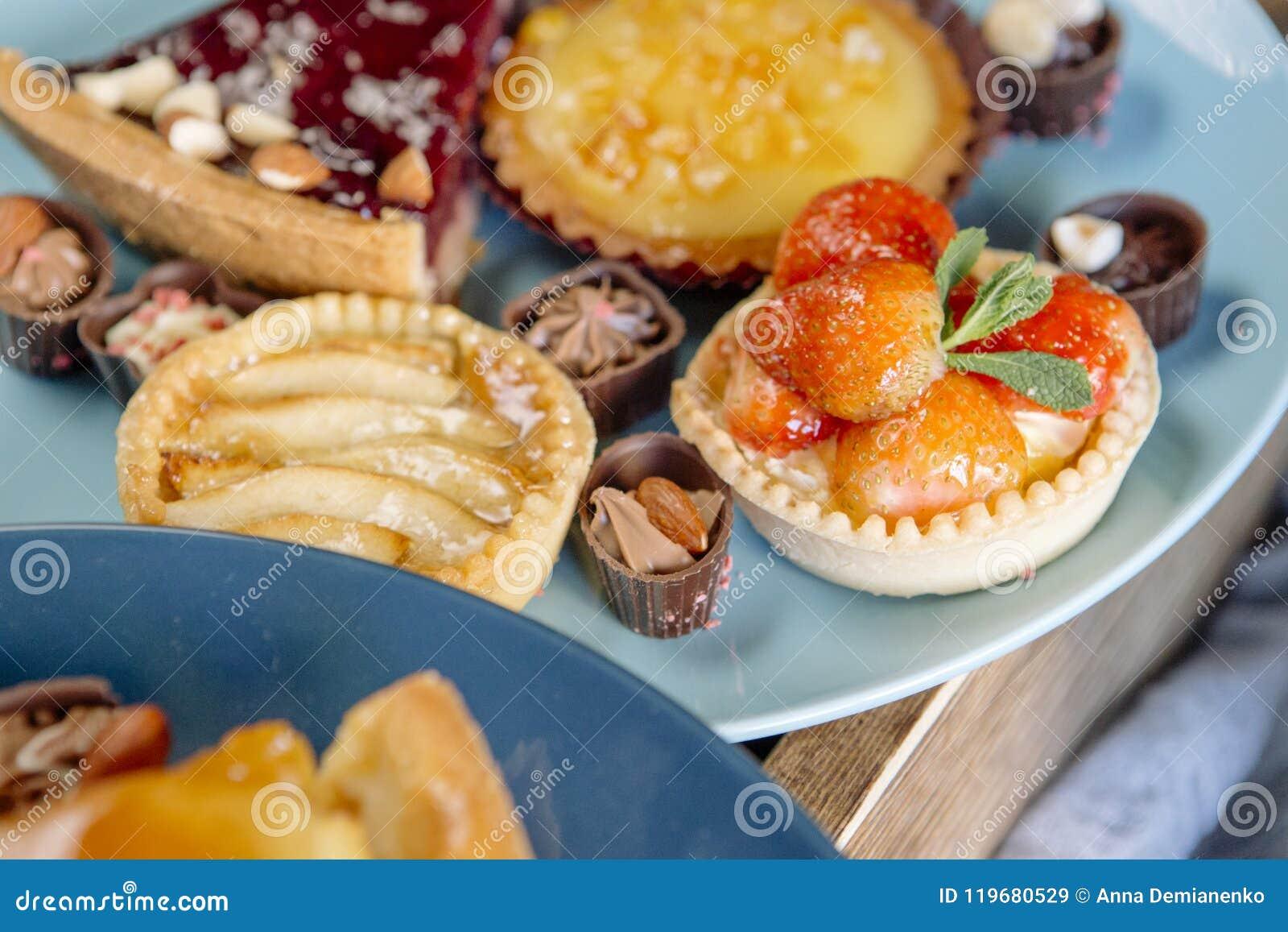 Susse Stange Von Kostlichen Kuchen Von Sussigkeiten Und Von Torten