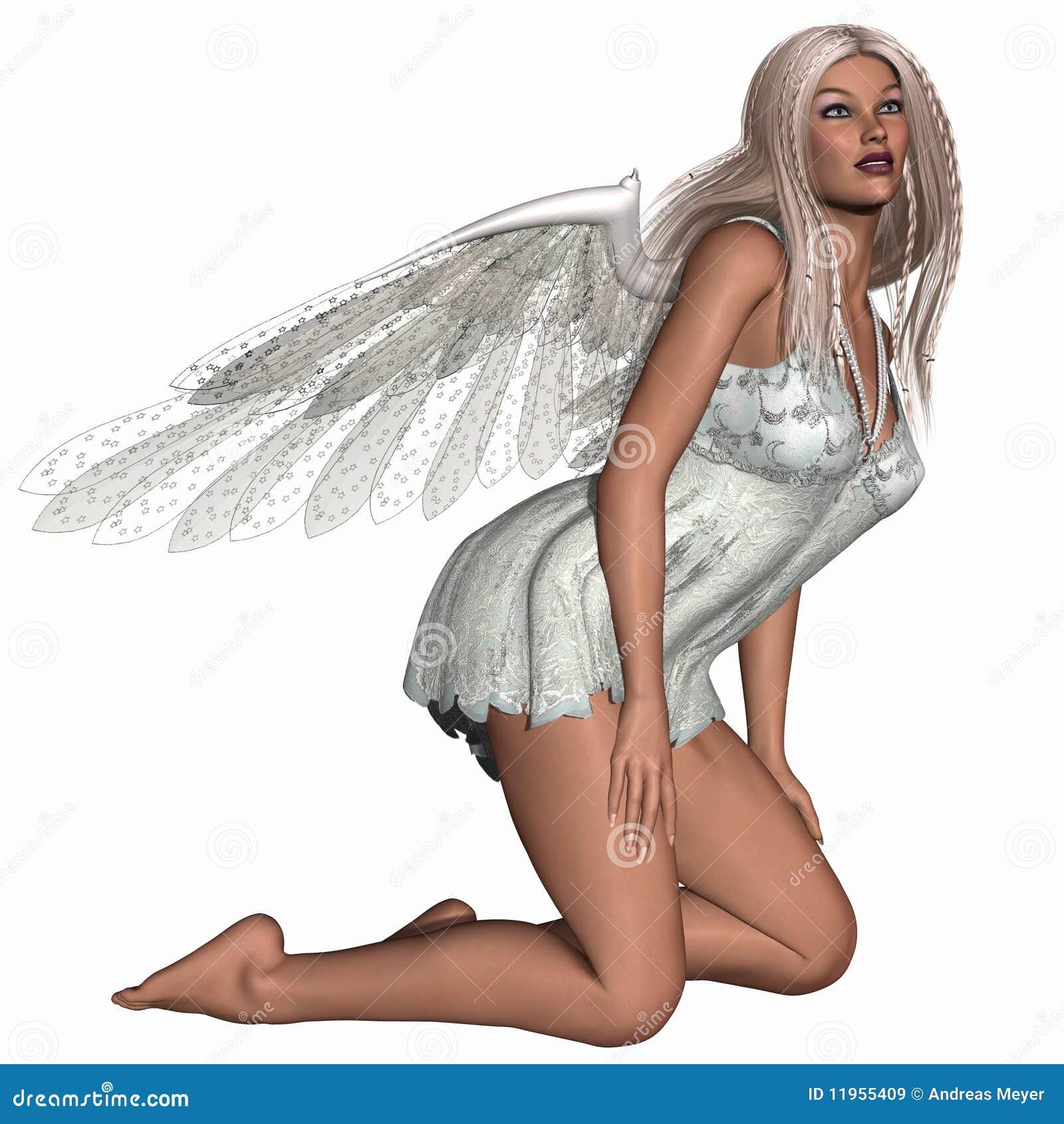 Süßer Engel Stock Abbildung Illustration Von Himmlisch 11955409