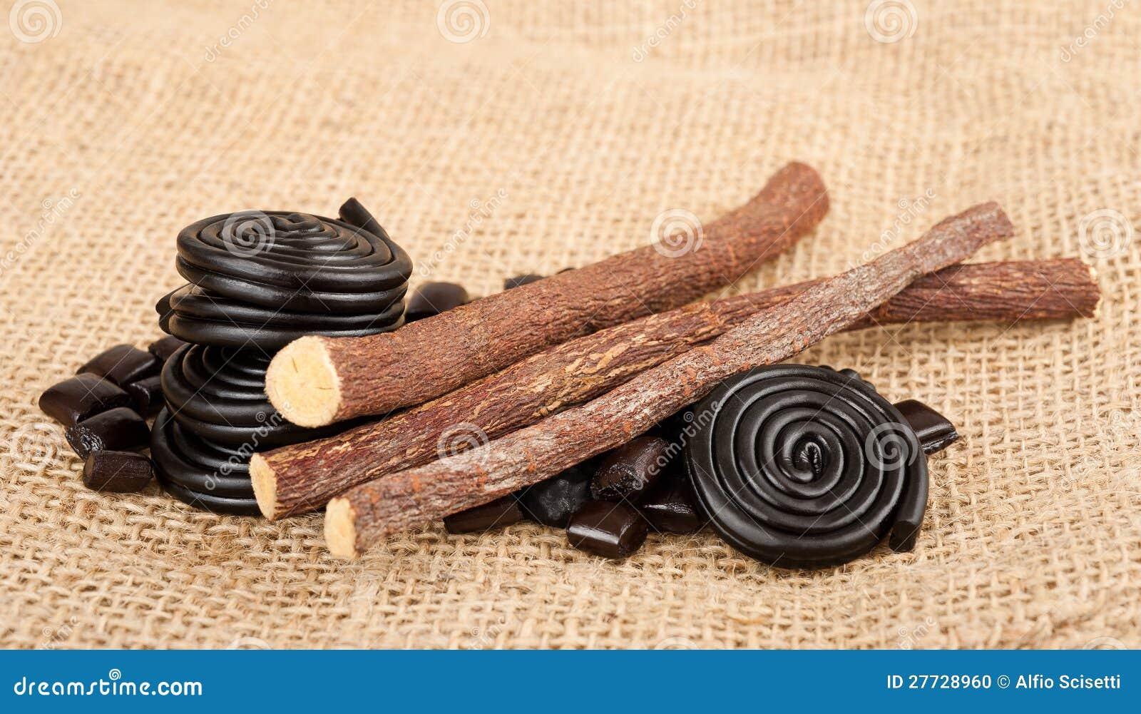 Süßholzansammlung