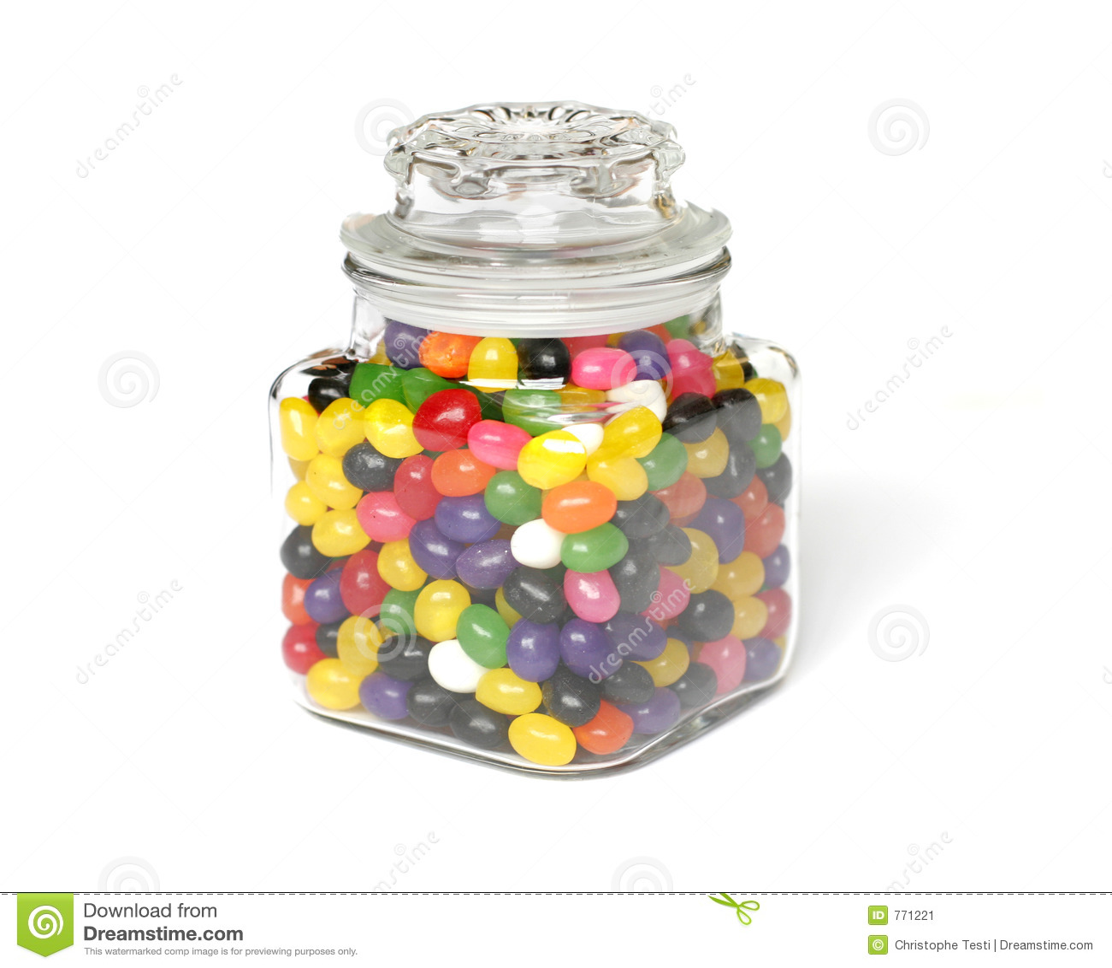 Süßigkeit-Glas