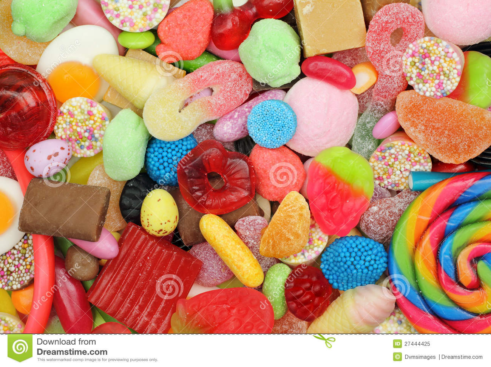 Süßigkeit-Mischung