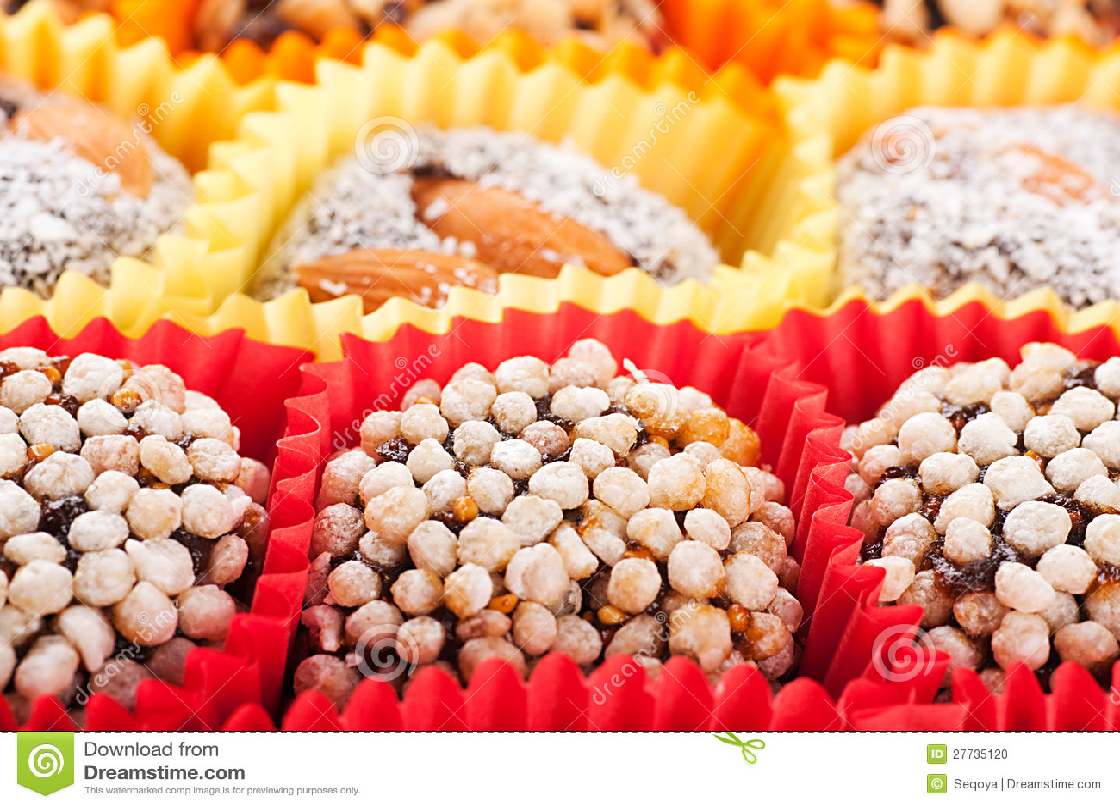 Süßigkeiten und Bonbons