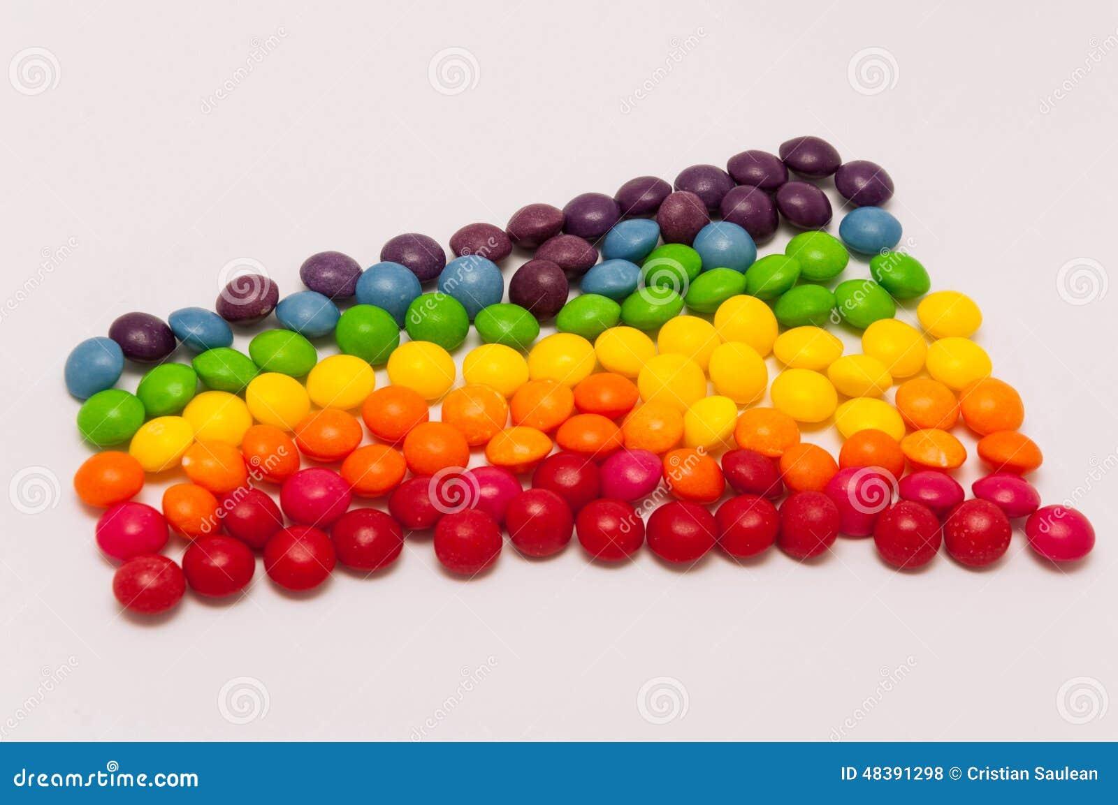 Süßigkeitsregenbogen