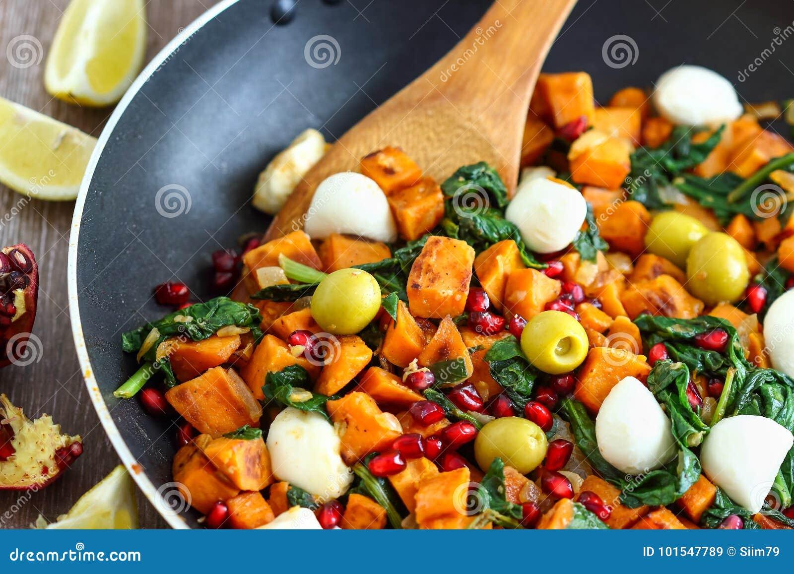 Süßkartoffel-Frühstücks-Hasch