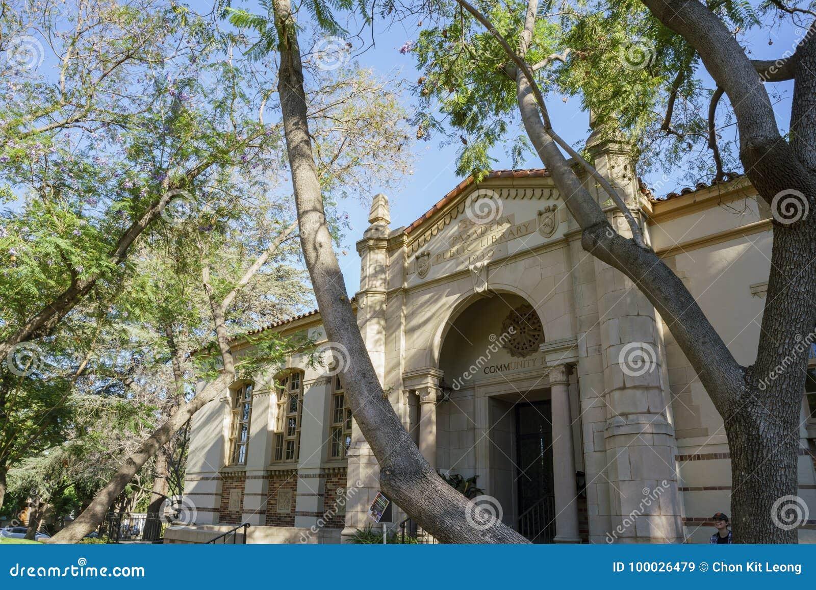 Süd-Pasadena-öffentliche Bibliothek