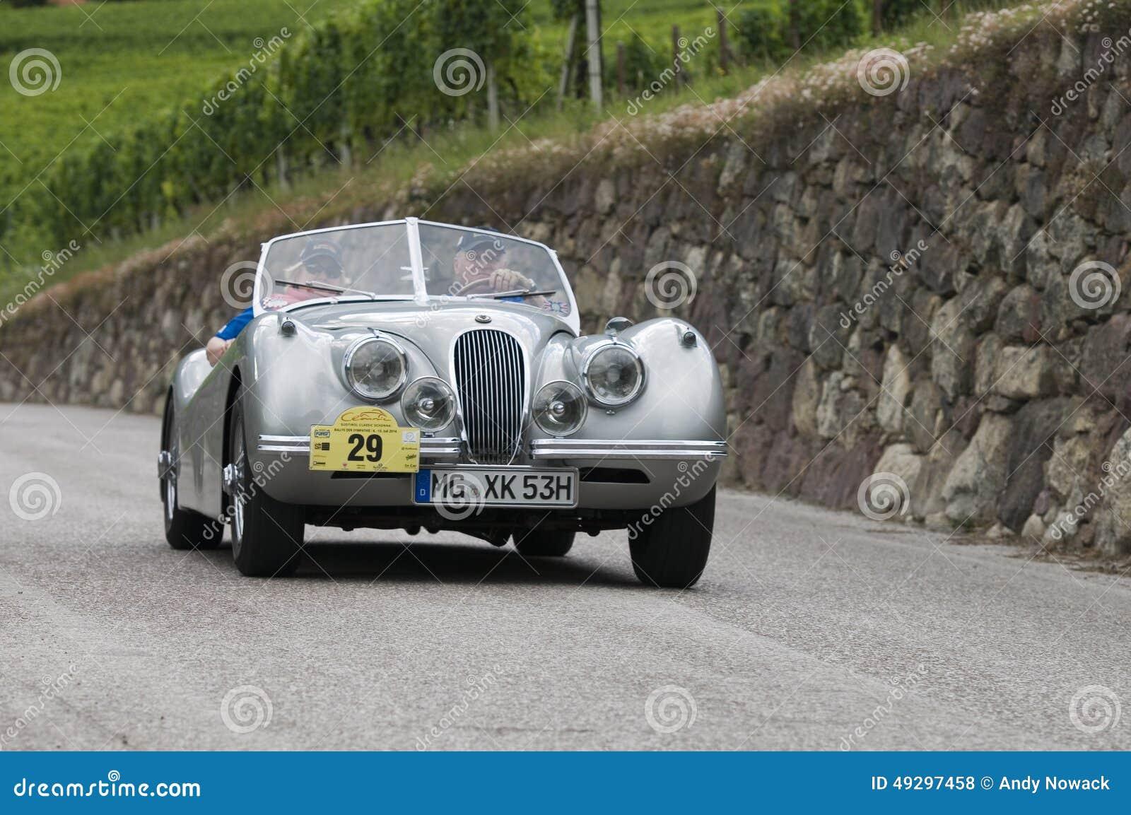 Süd-Tirol klassisches cars_2014_Jaguar XK 120 Roadster_2