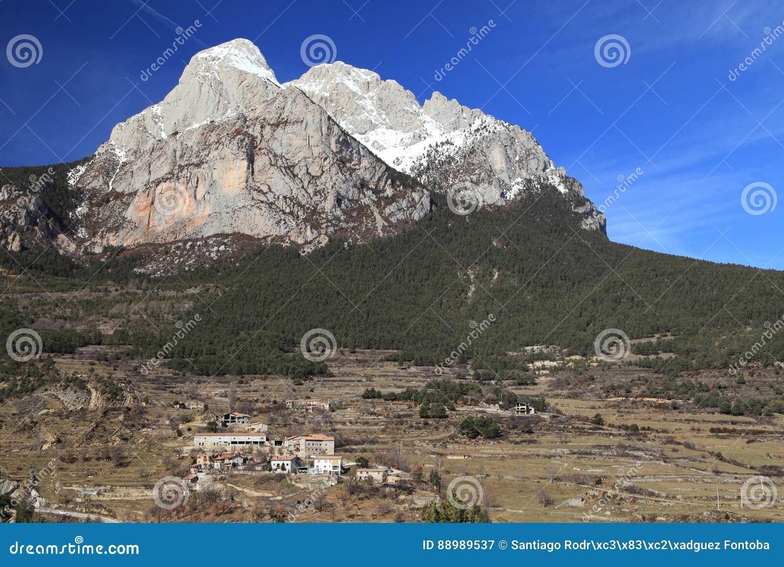 Südgesicht des Pedraforca