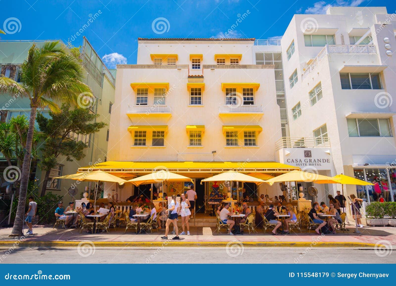 Südstrand, Miami Beach, Ozean-Antriebs-Straße ...