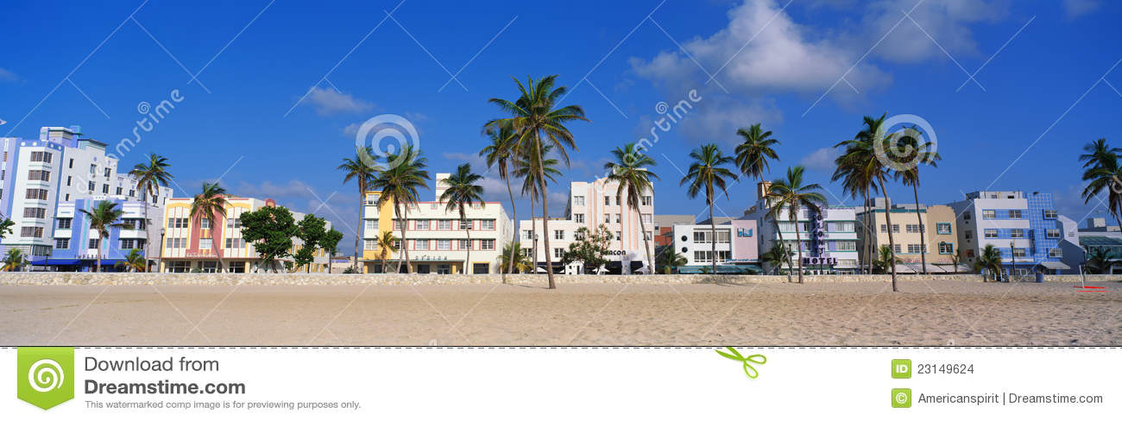 Südstrand Miami, Florida-Art DecoBezirk
