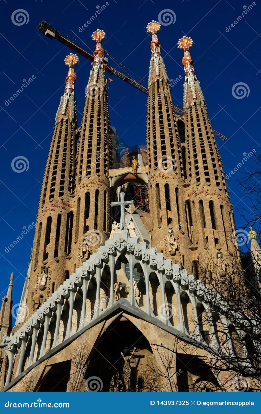 Sühnende Kirche des heiligen Familie Templo Expiatorio De-La Sagrada Familia