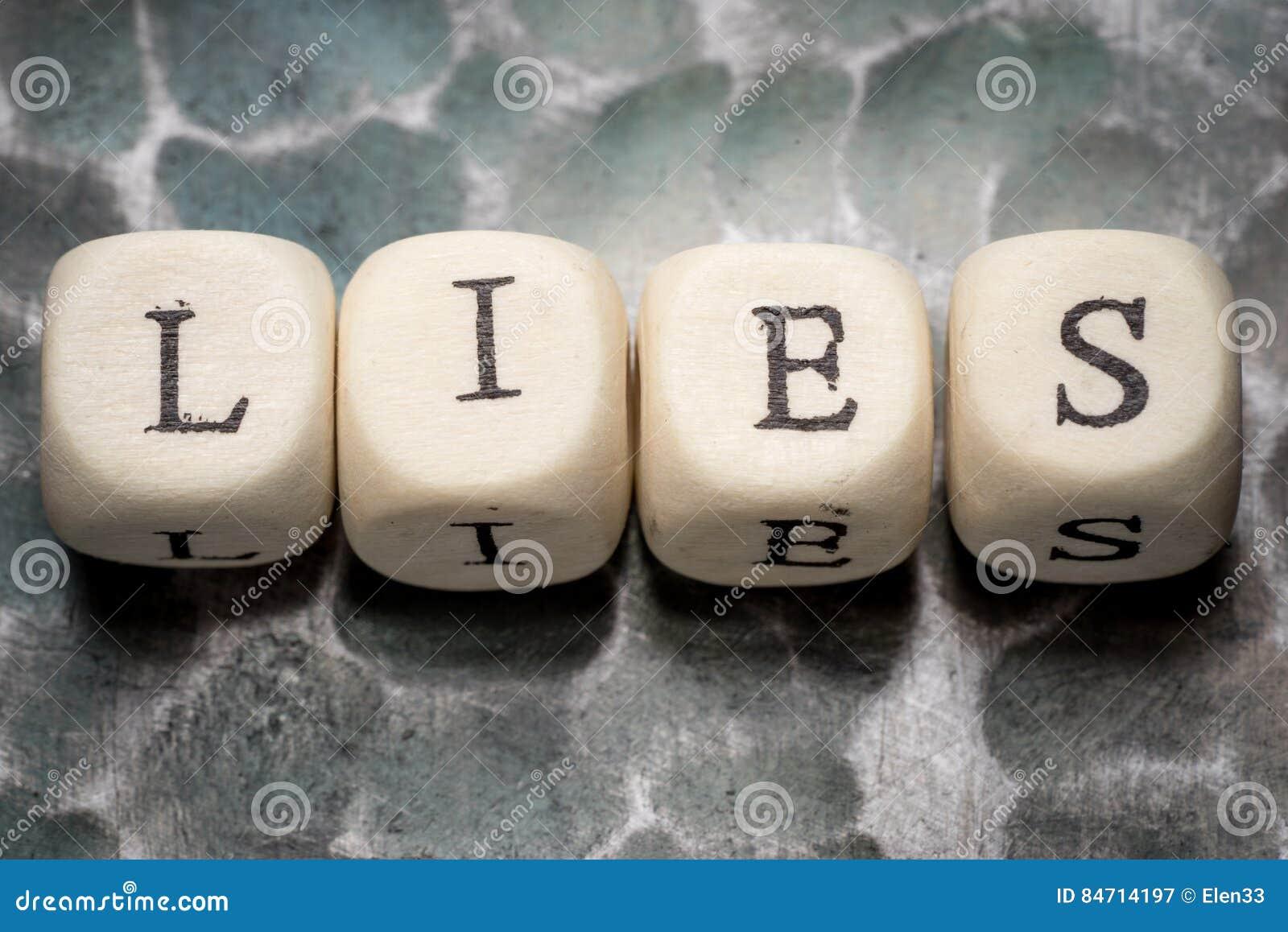 Słów kłamstwa