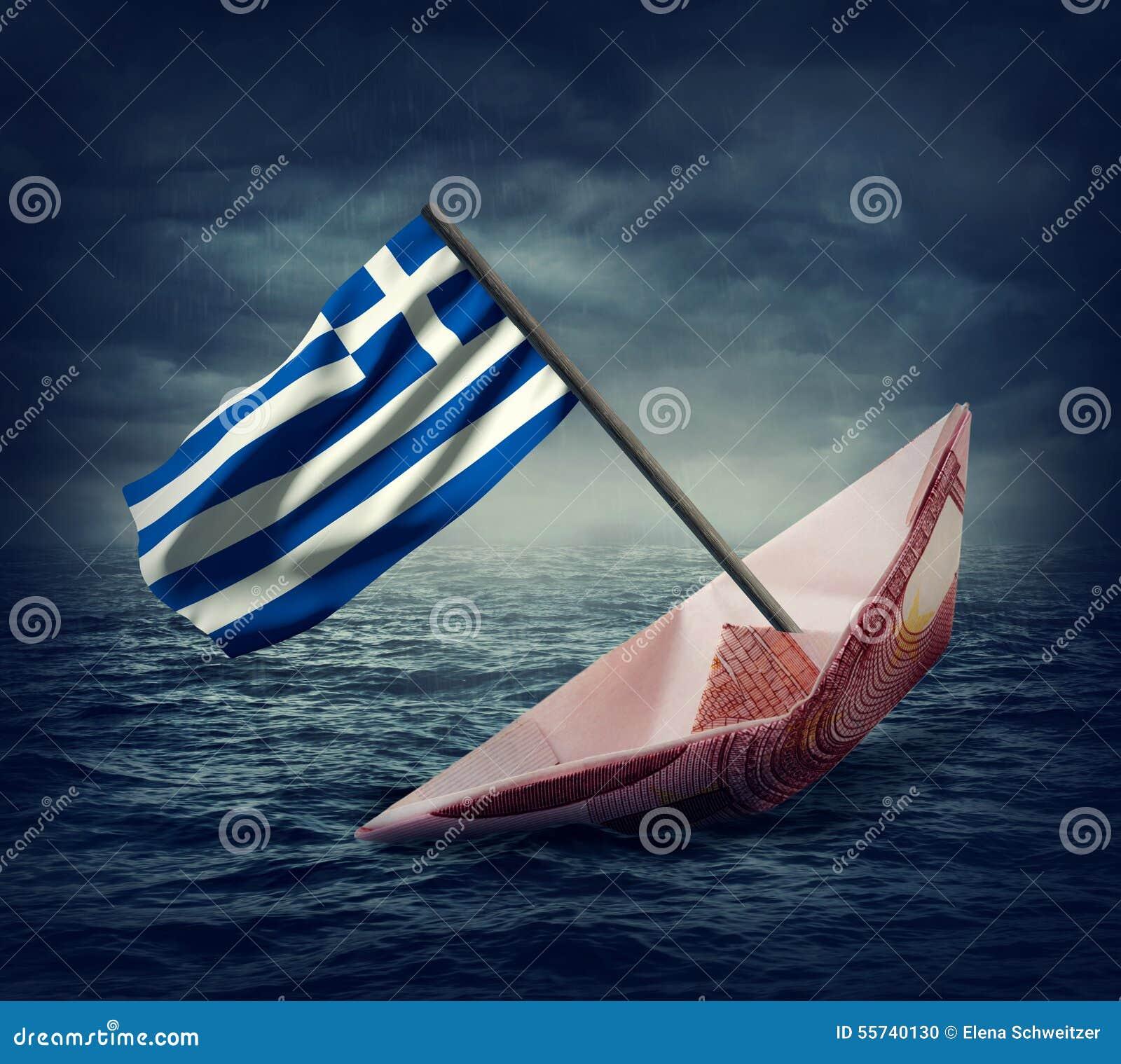 Słabnięcie euro statek z flaga Grecja