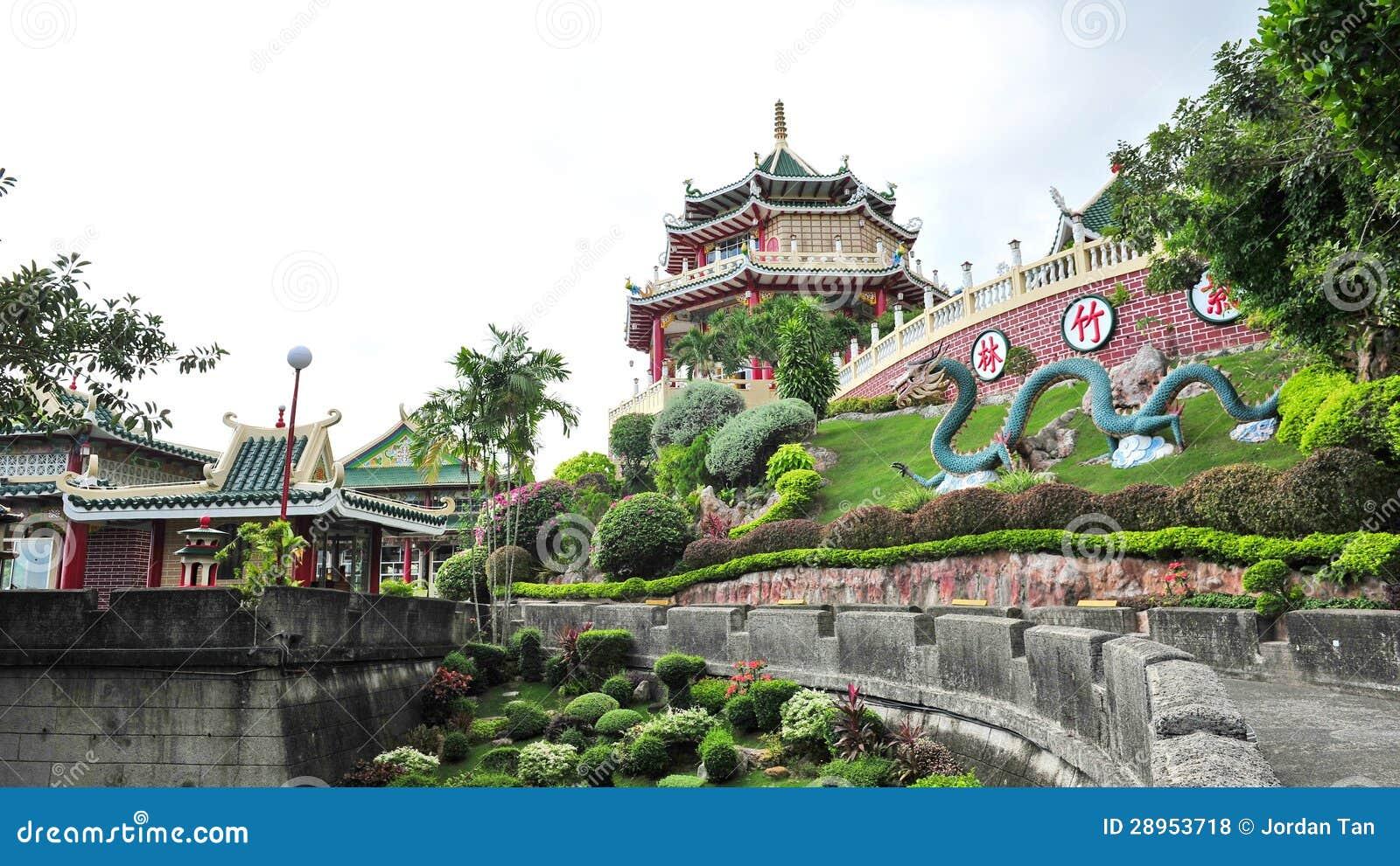 Sławna Taoistyczna świątynia w Cebu