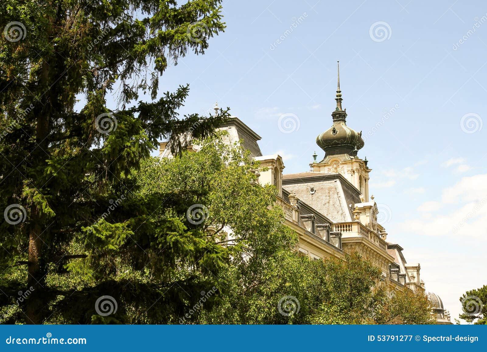 Sławny kasztel w Keszthely