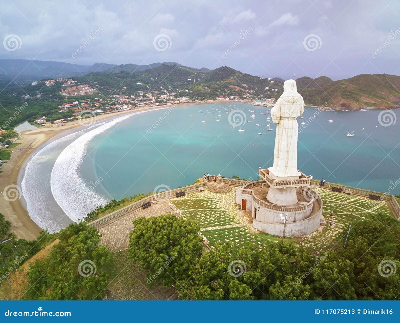 Sławny podróży miejsce w Nikaragua