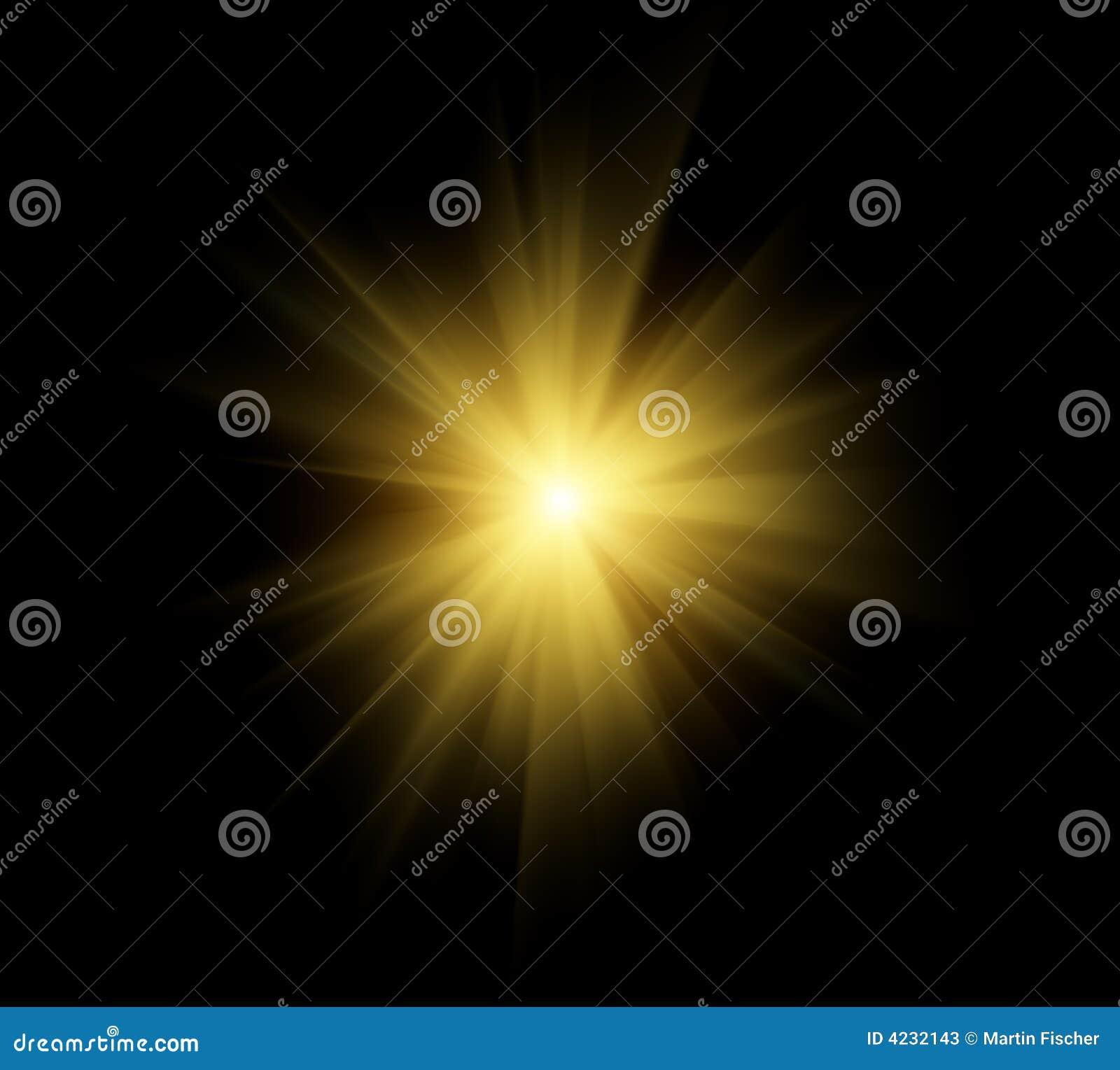 Słońce jasno flary