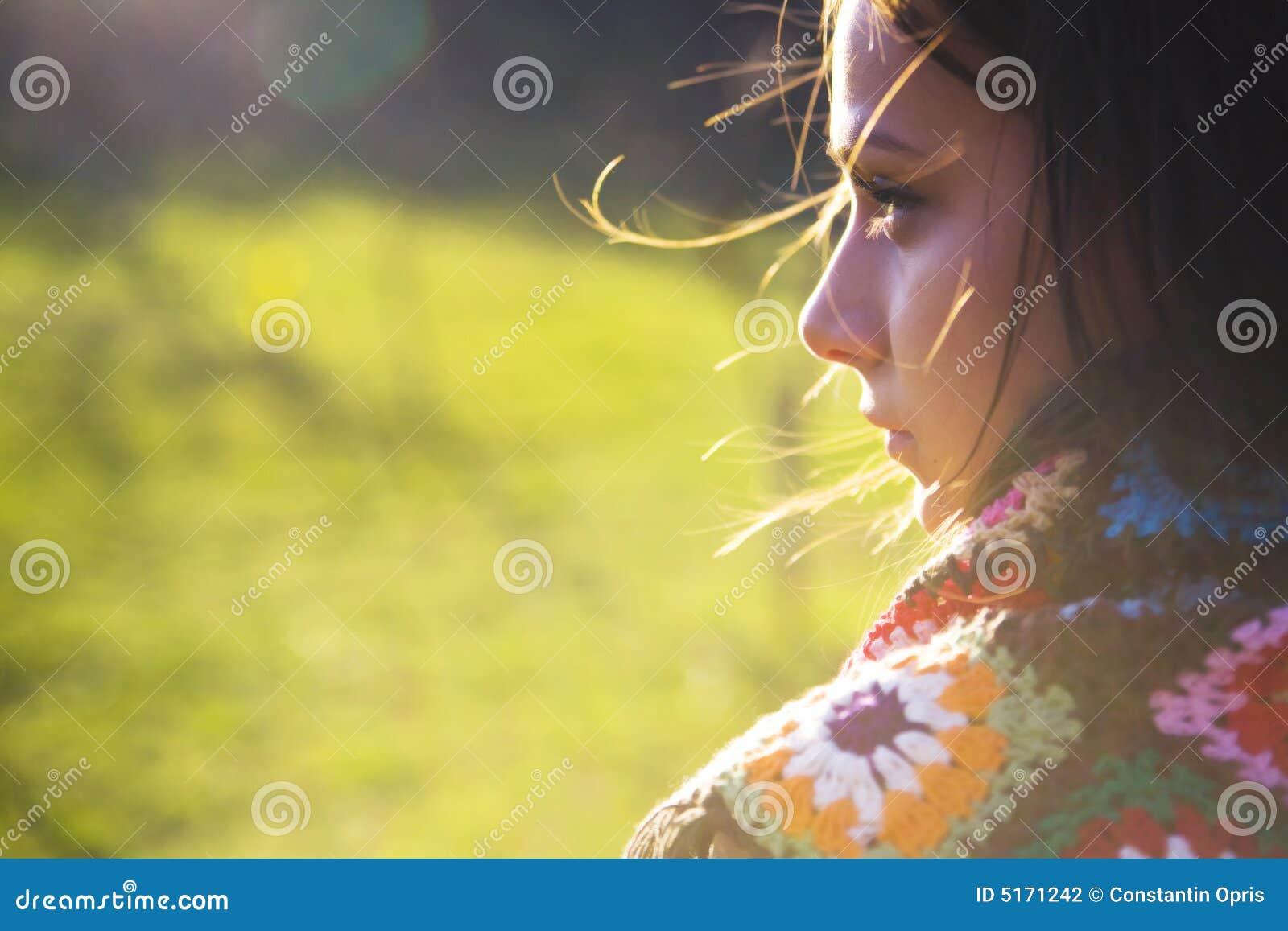Słońce kobieta