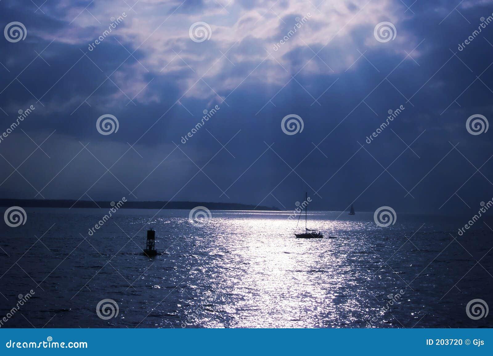 Słońce nad wodą