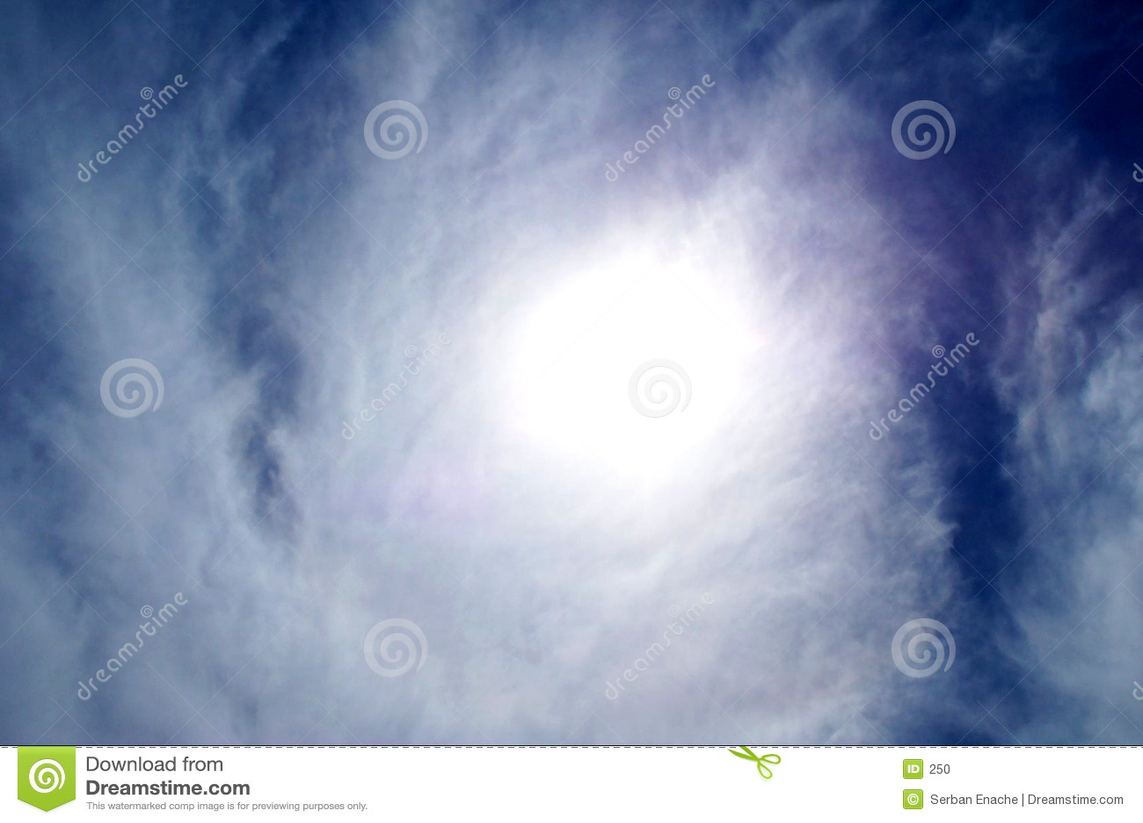Słońce obłoczna konsystencja