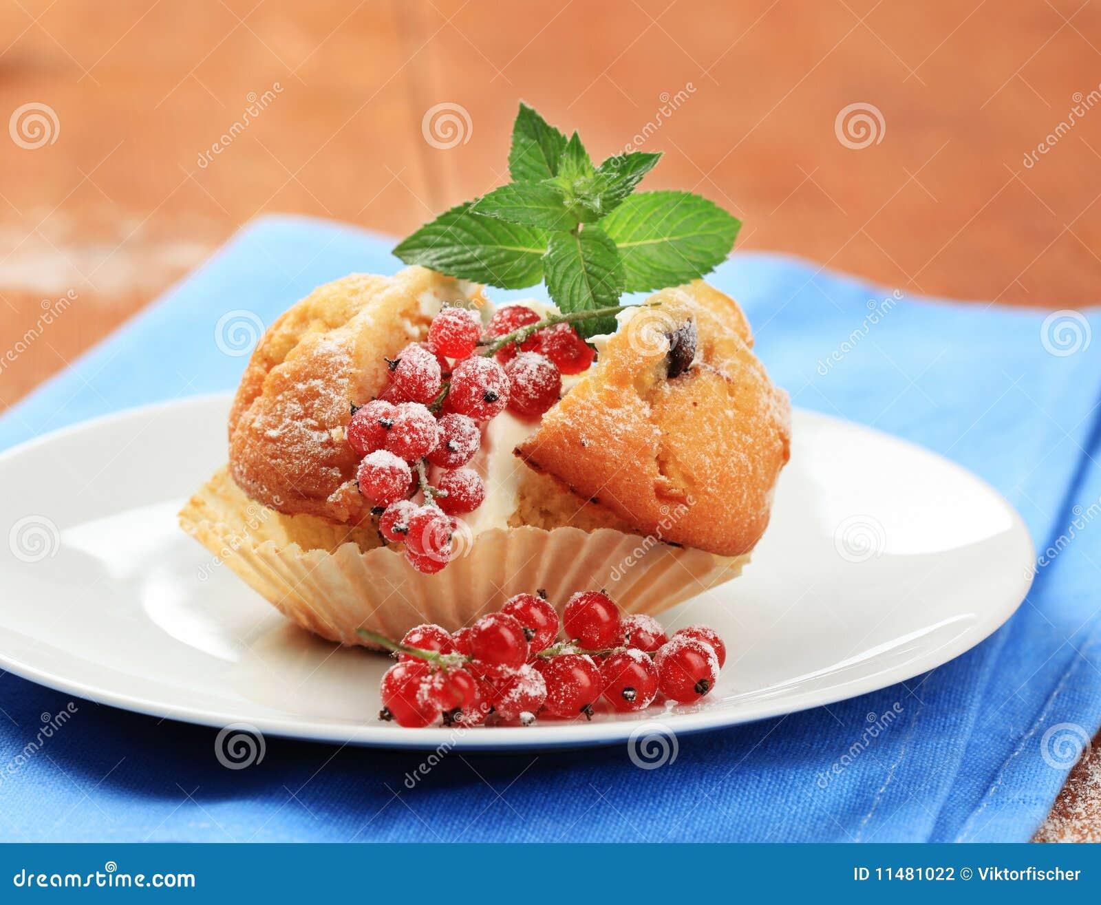 Słodka bułeczka smakowity