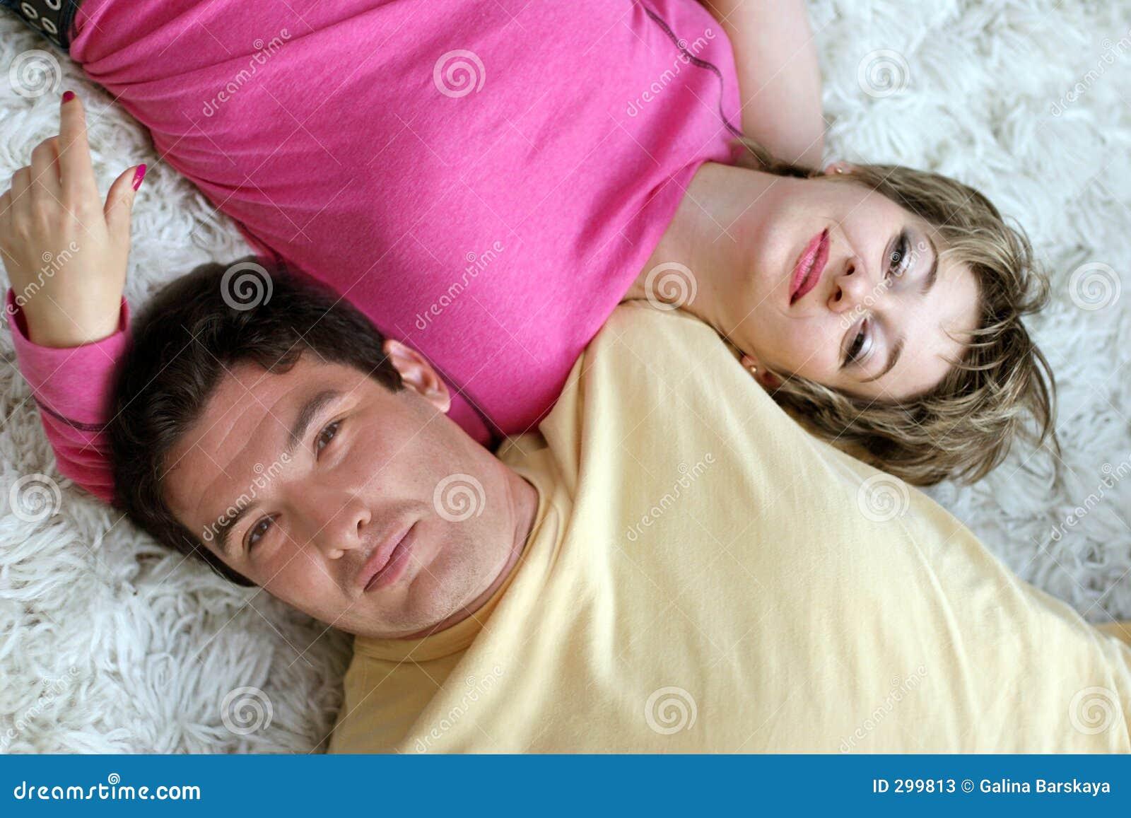 Słodka młoda para