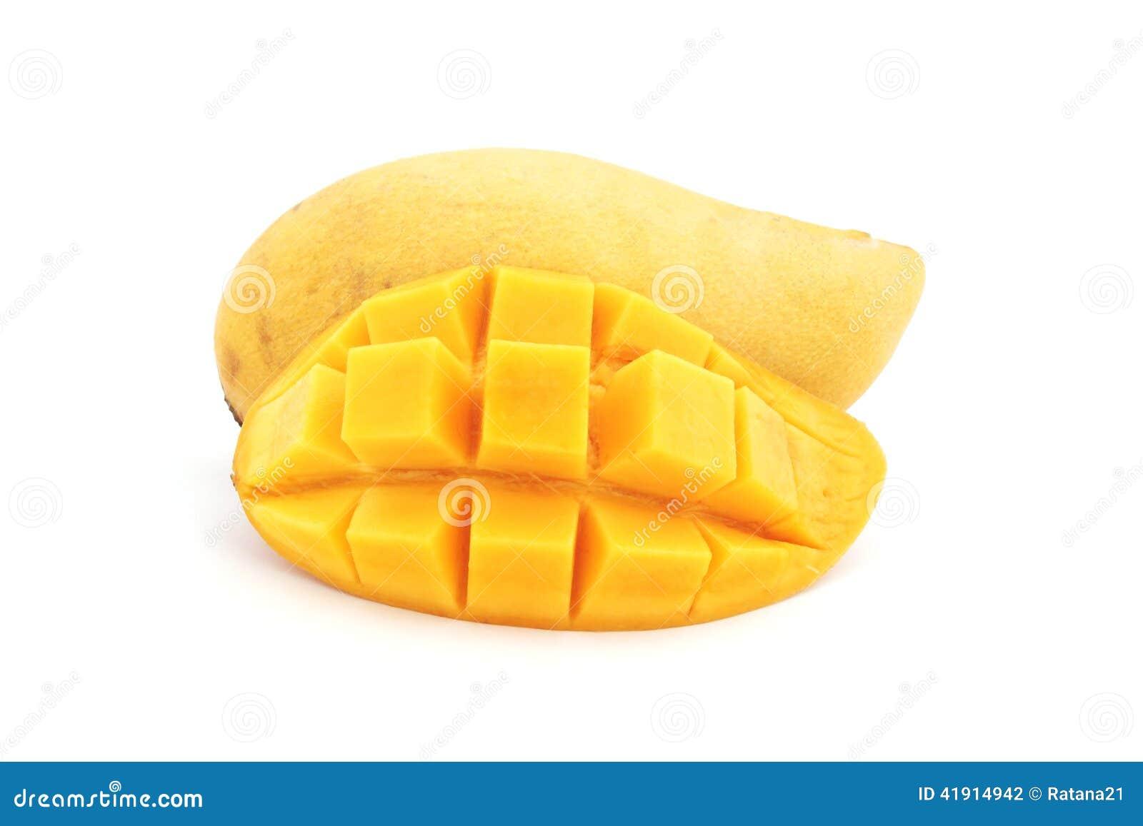 Słodki dojrzały żółty mango