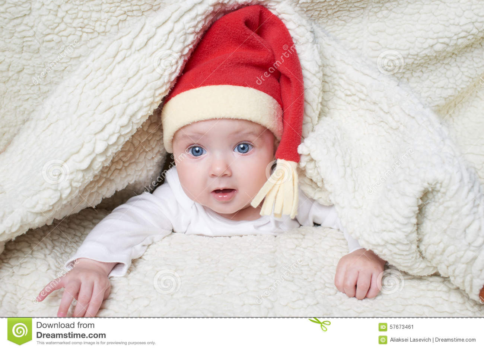 Słodkie dziecko kapelusz Mikołaja