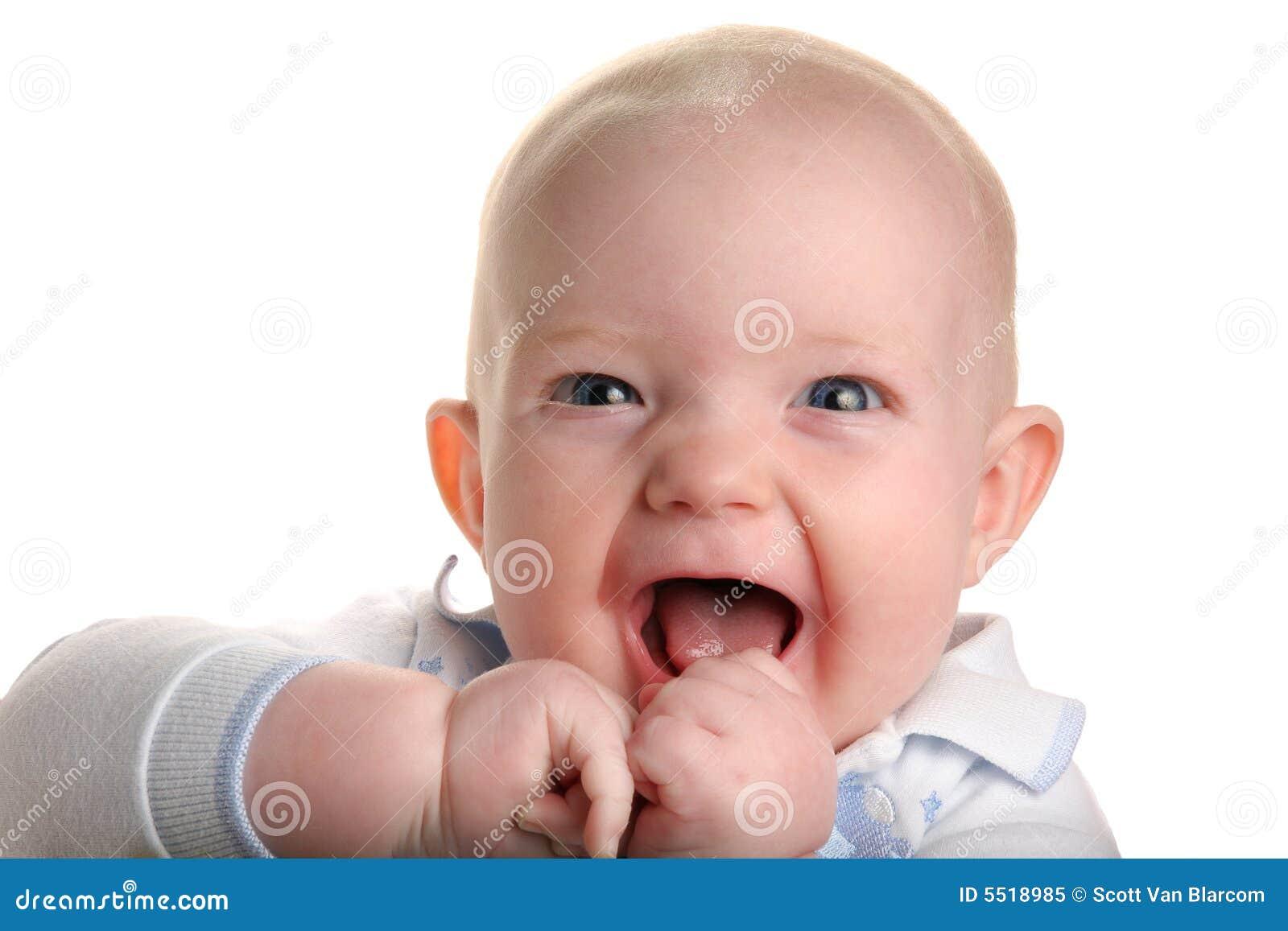 Słodkie dziecko szczęśliwy