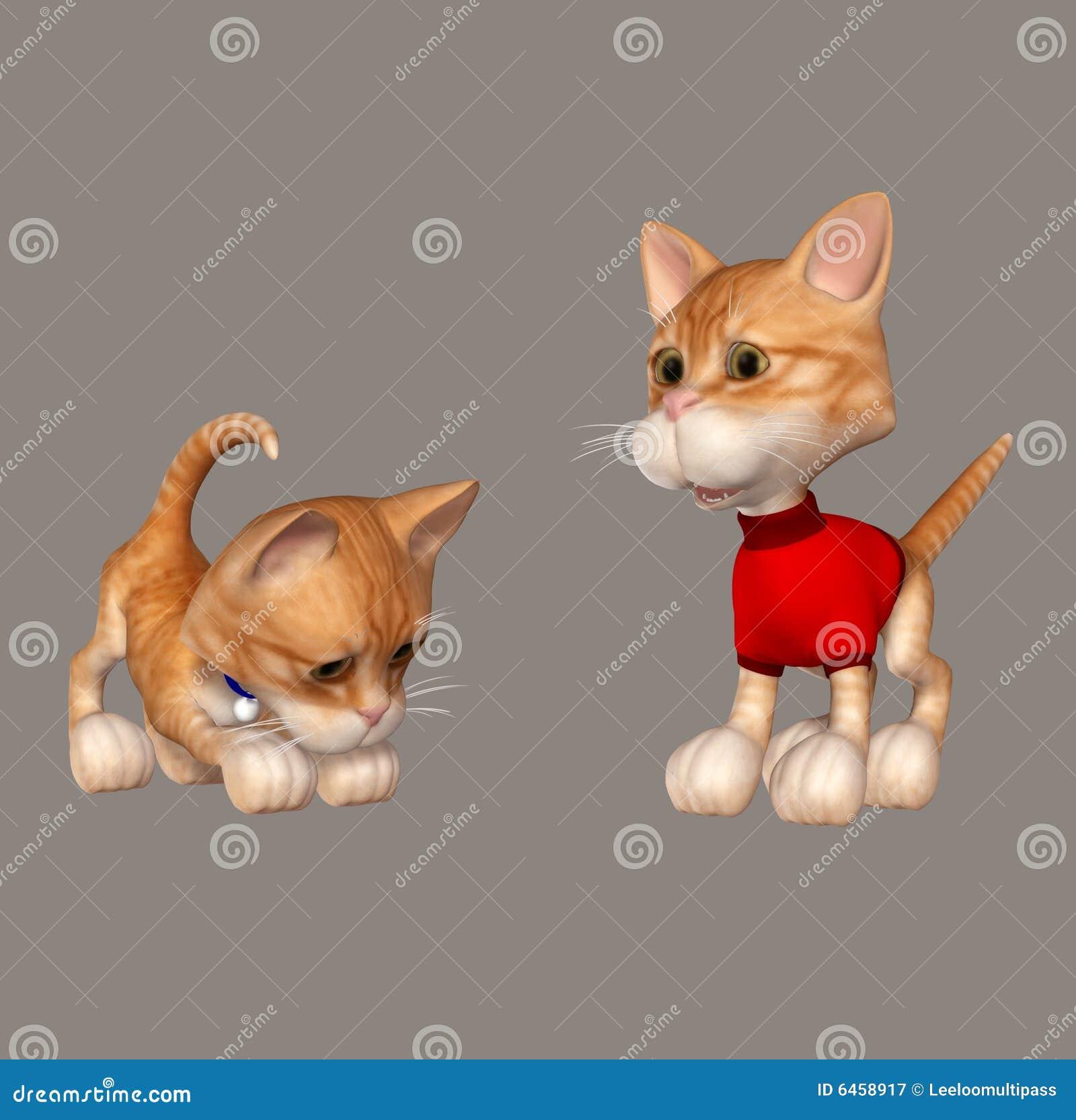 Słodkie koty