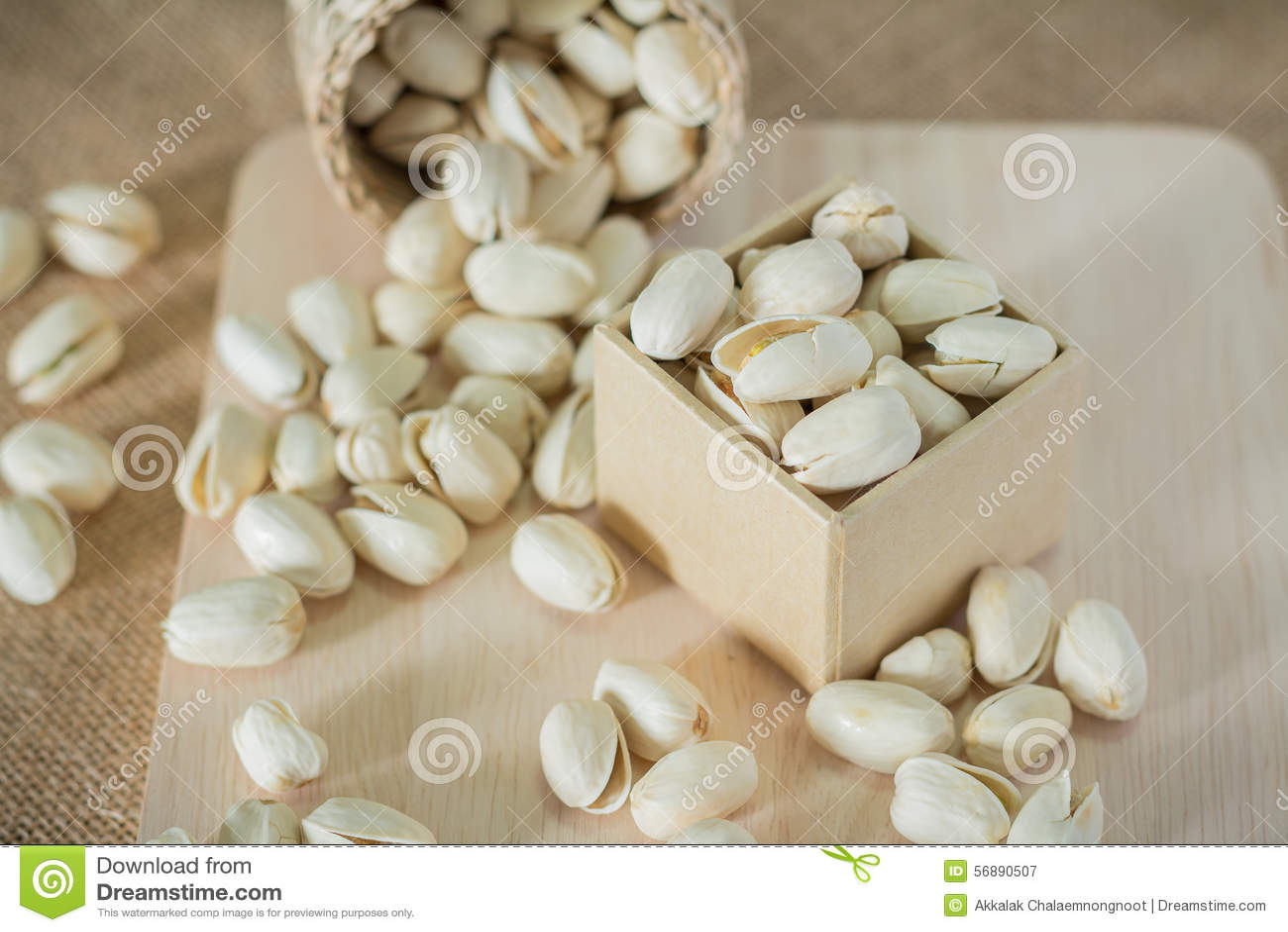 Słone pistacj dokrętki