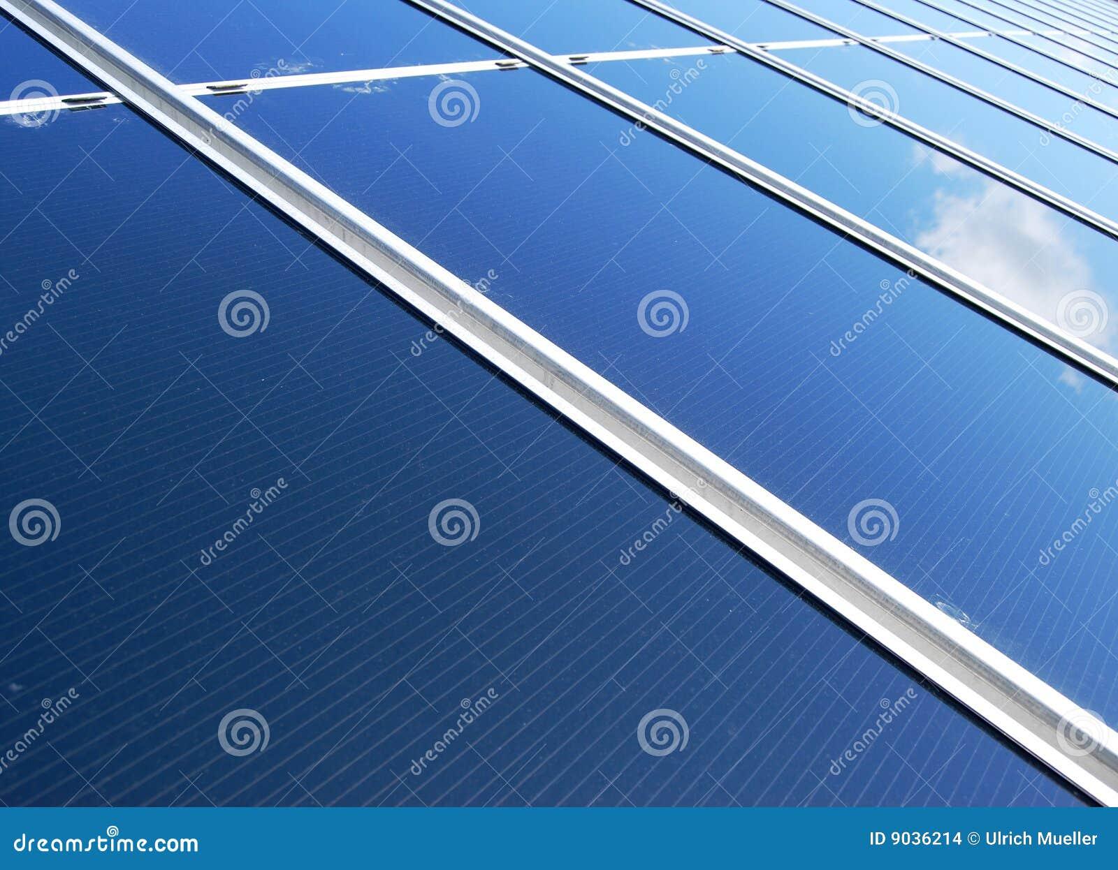 Słoneczny energetyczny panel