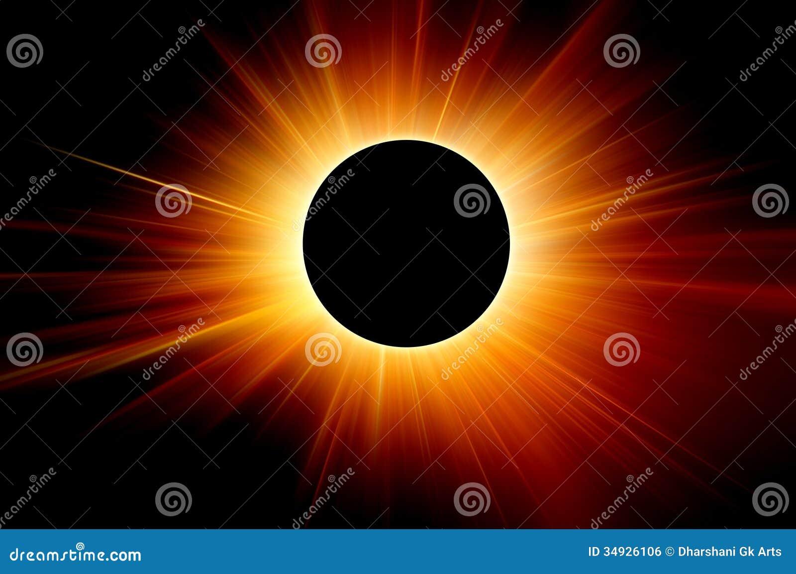 Słoneczny zaćmienie