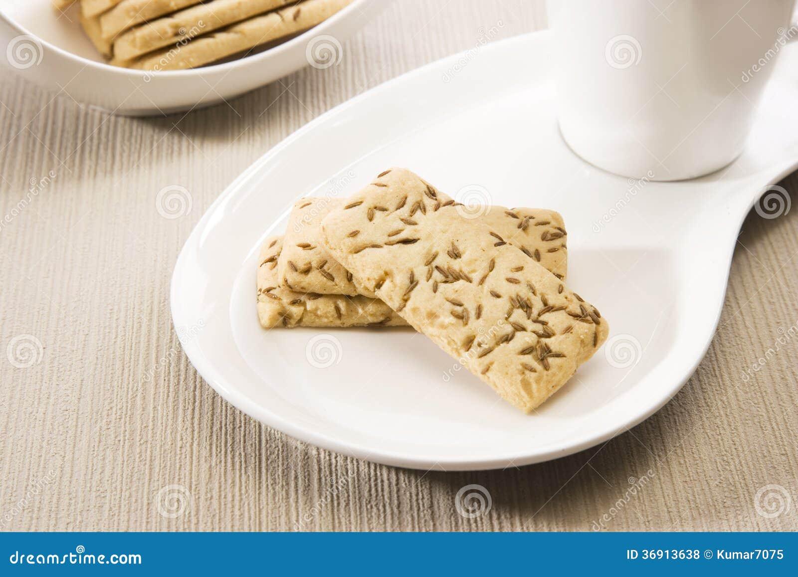 Słoni kminów ciastka