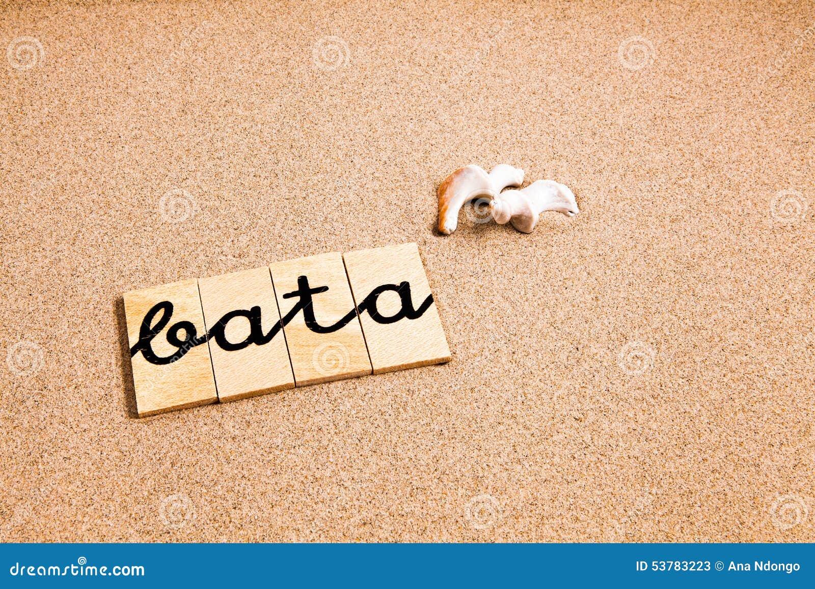 Słowa na piaska bata