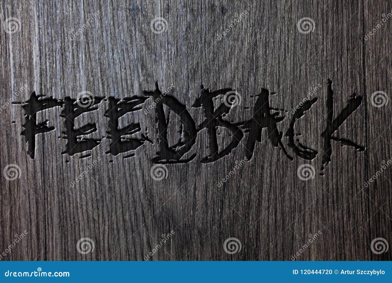 Słowa writing teksta informacje zwrotne Biznesowy pojęcie dla klienta przeglądu opinii reakci cenienia Daje odpowiedzi drewna z p